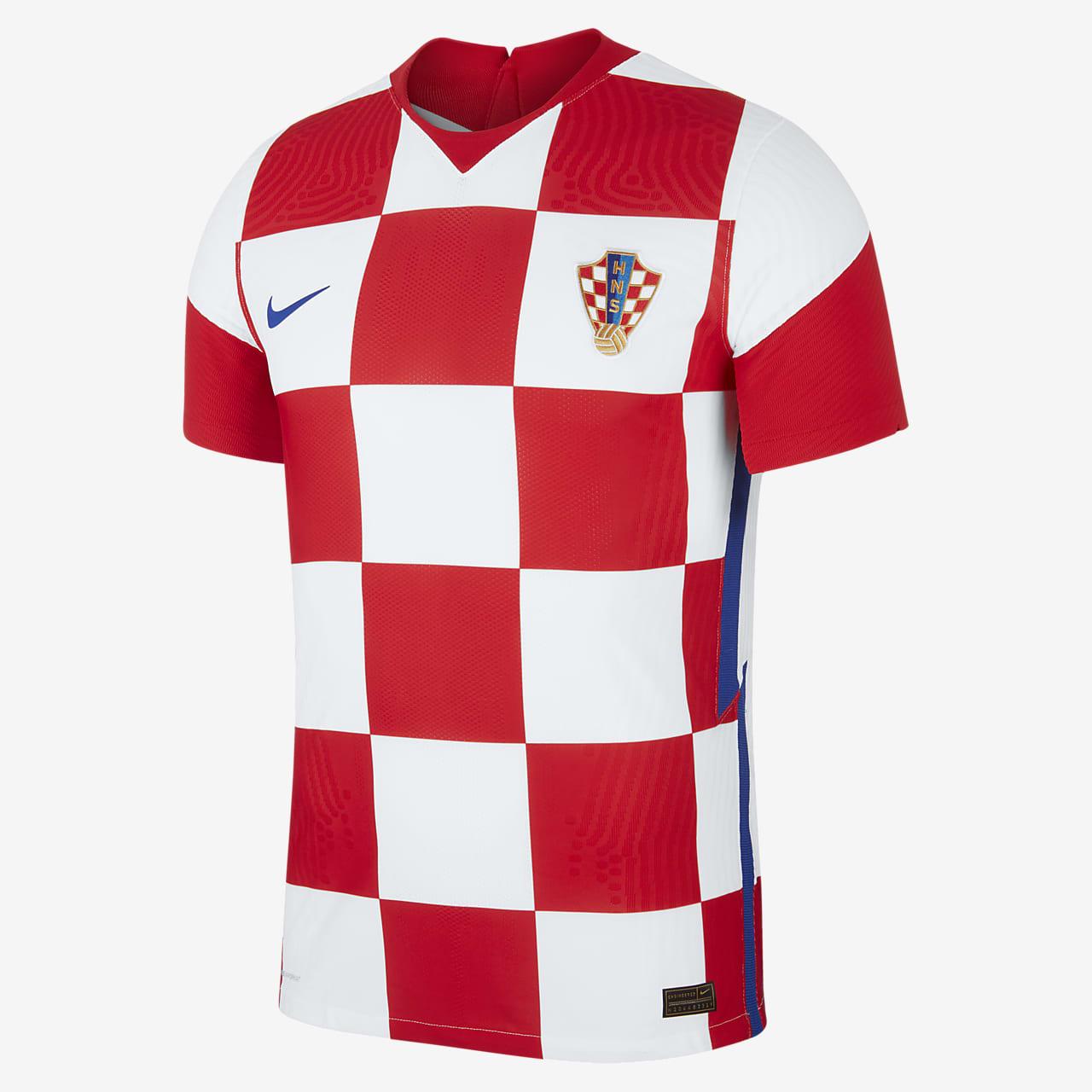 Camiseta de fútbol para hombre de local de Croacia 2020 Vapor Match