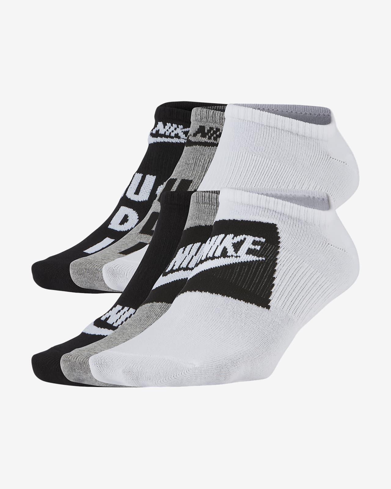 Nike Everyday Kids' Lightweight No-Show Socks (6 Pairs)
