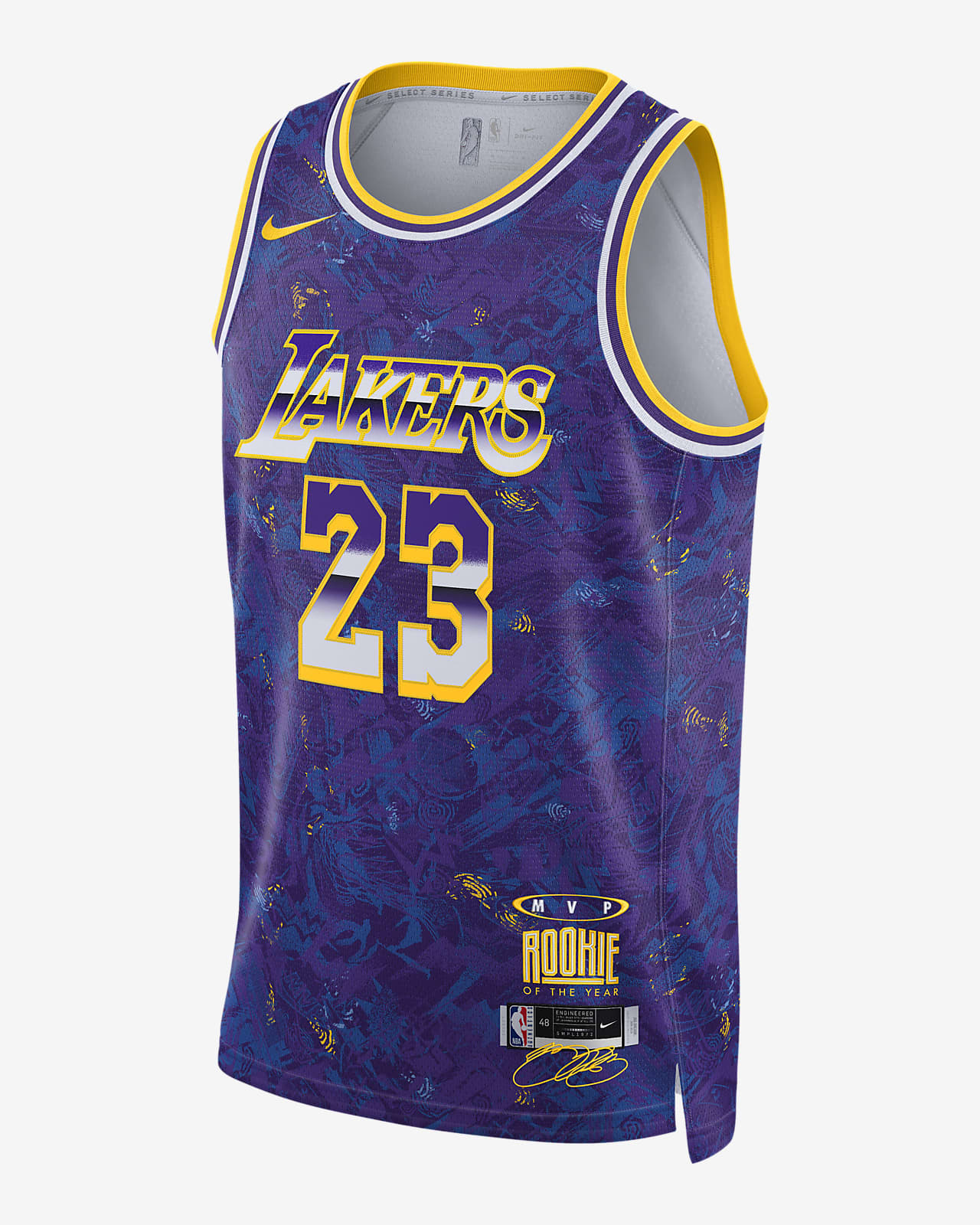 Camiseta Nike NBA LeBron James Select Series