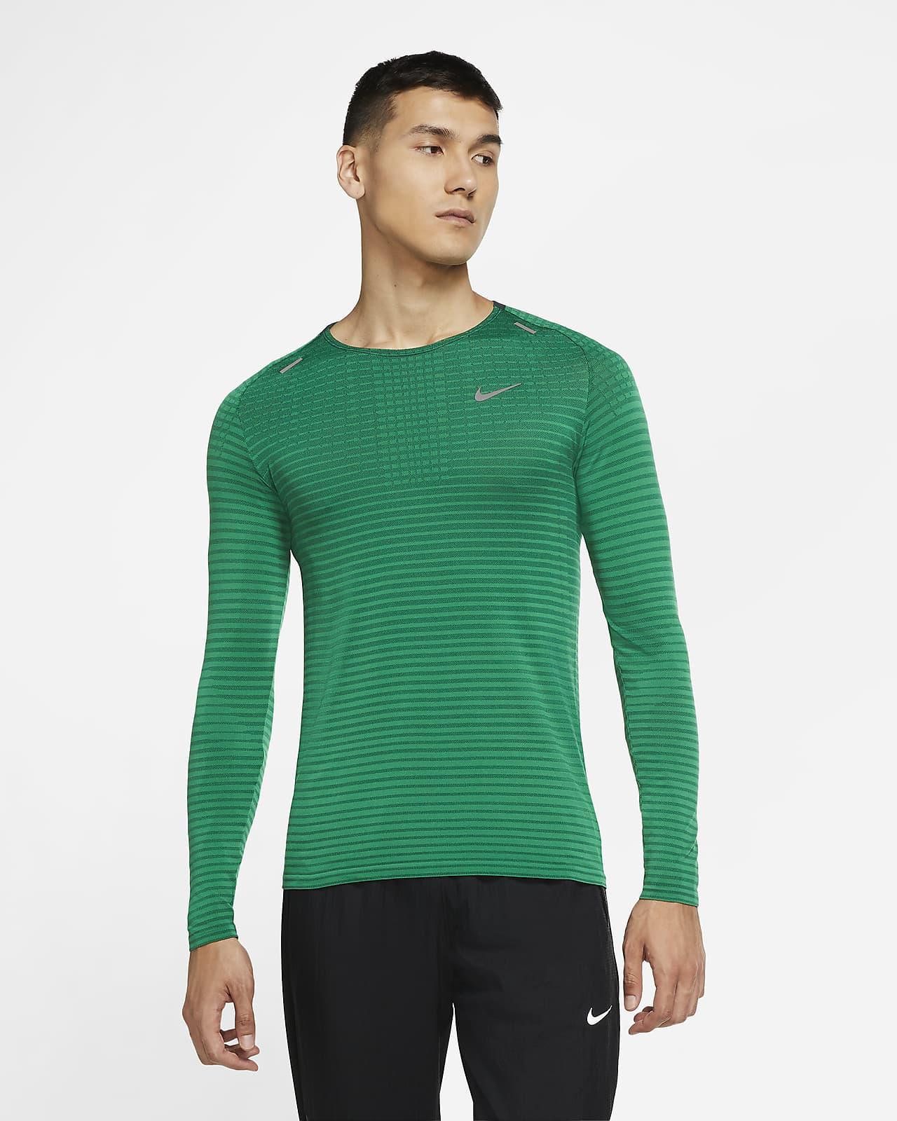 Maglia da running a manica lunga Nike TechKnit Ultra - Uomo
