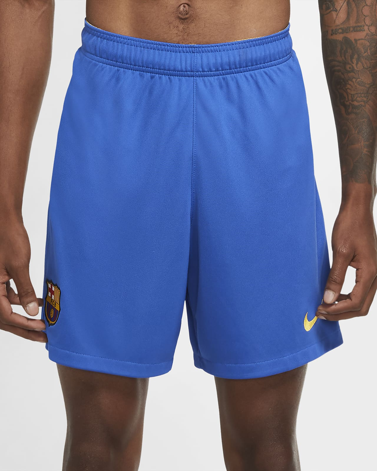 F.C. Barcelona 2020/21 Stadium Men's Football Shorts
