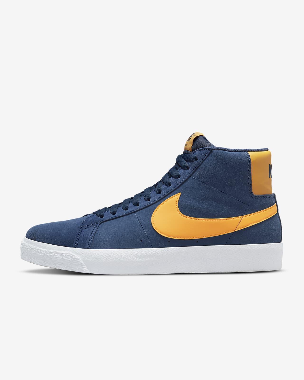Nike SB Zoom Blazer Mid 'Navy / University Gold'