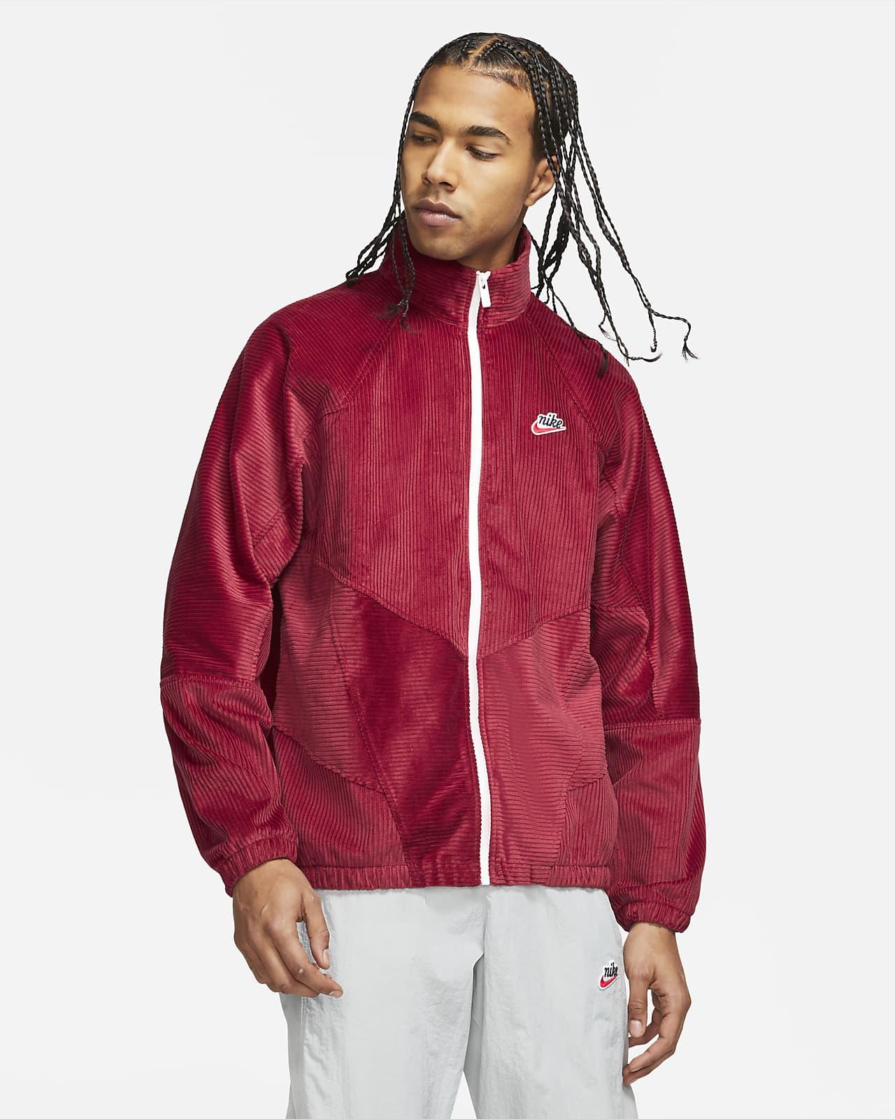 Veste en velours côtelé Nike Sportswear Heritage Windrunner pour Homme