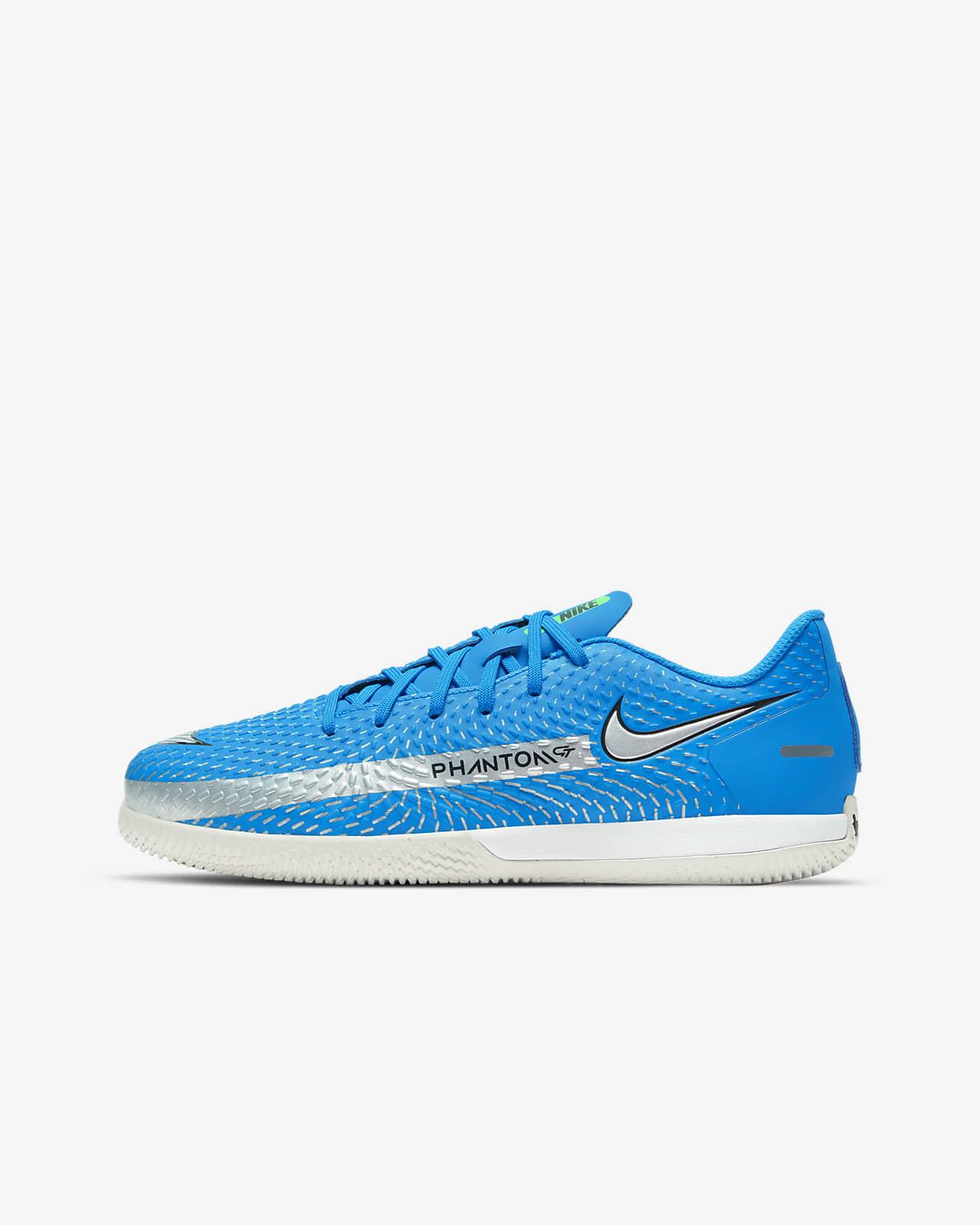 Nike Jr. Phantom GT Academy IC Little/Big Kids' Indoor/Court Soccer Shoe
