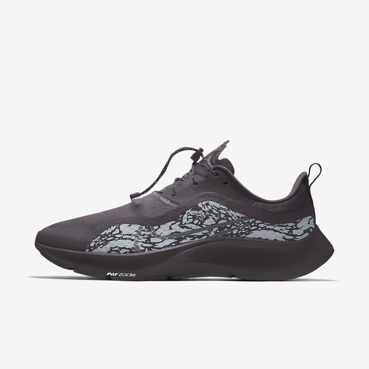 Specialdesignad löparsko Nike Air Zoom Pegasus 37 Shield By You