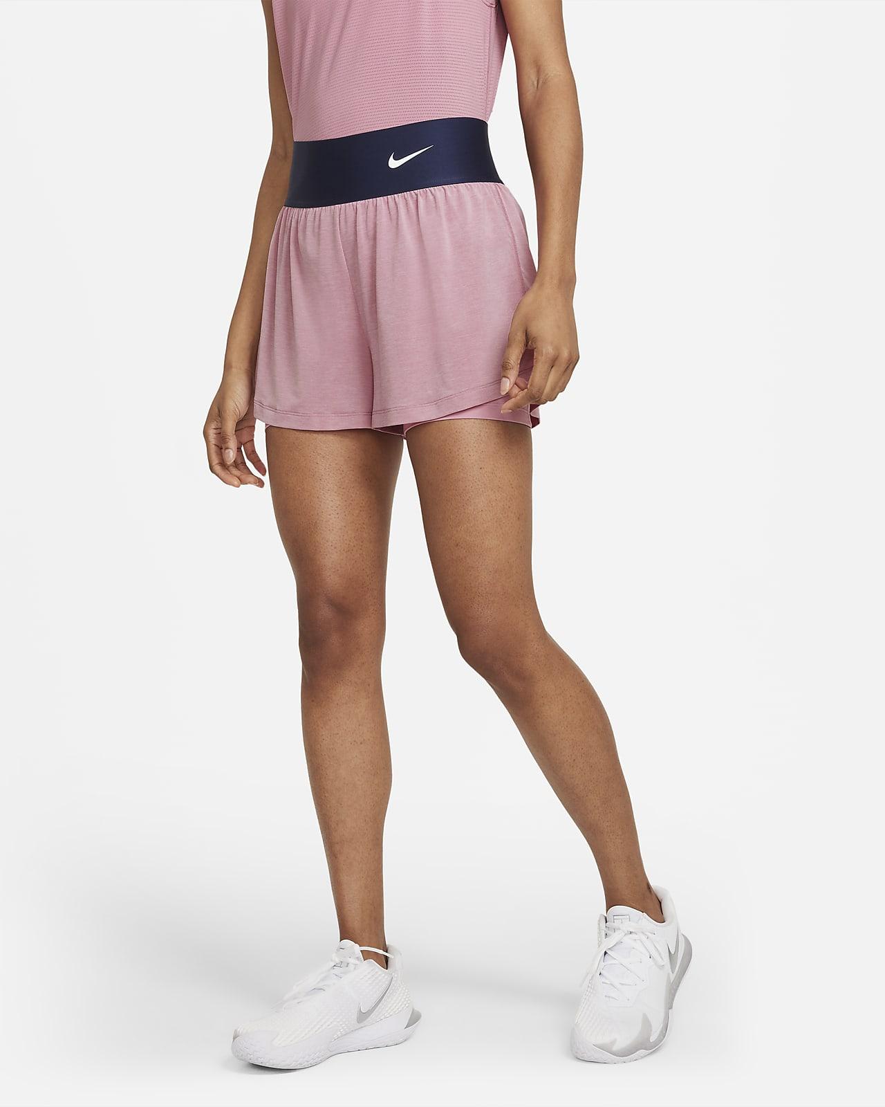 Short de tennis NikeCourt Advantage pour Femme