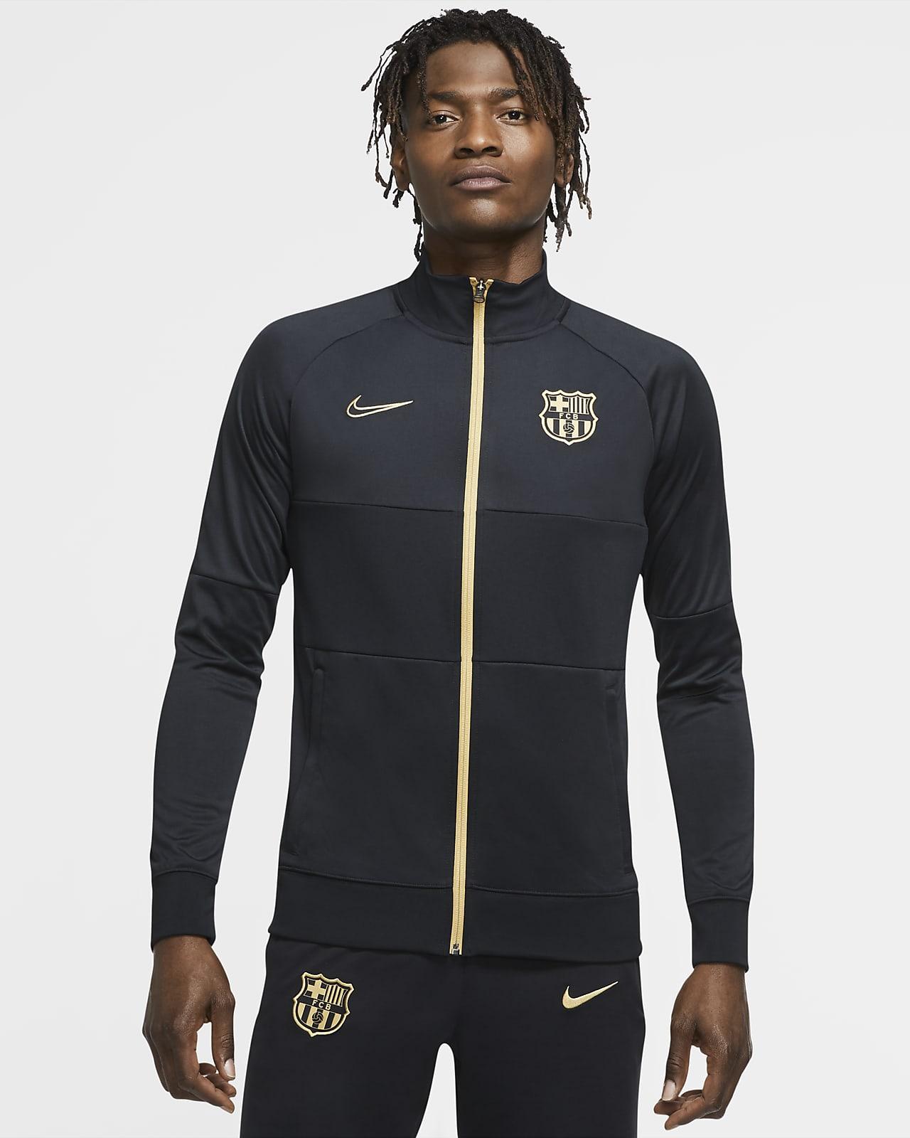 Fotbollsträningsjacka FC Barcelona för män