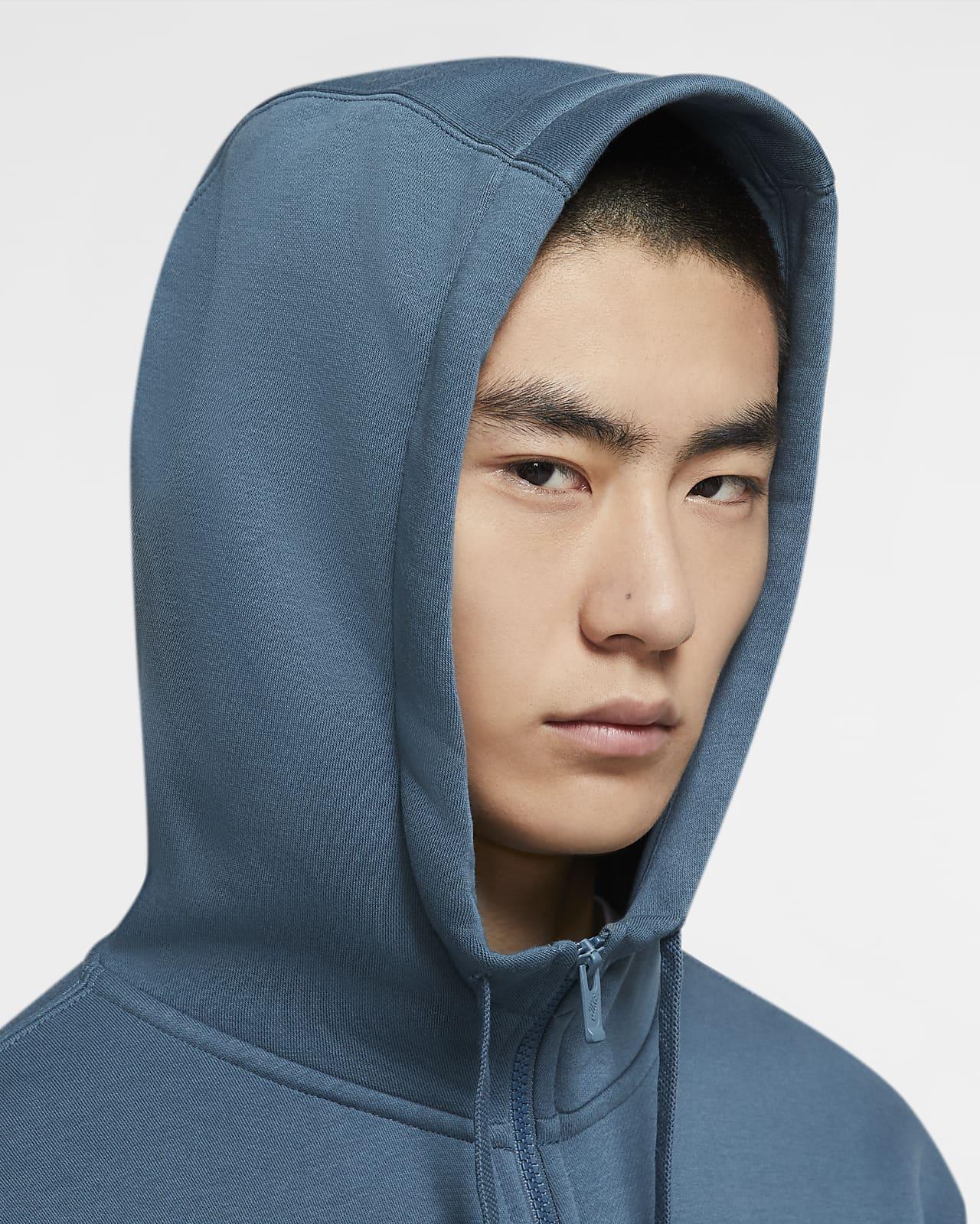 Nike Sportswear Club Fleece Full Zip Men/'s Hoodie Logo Embroidered