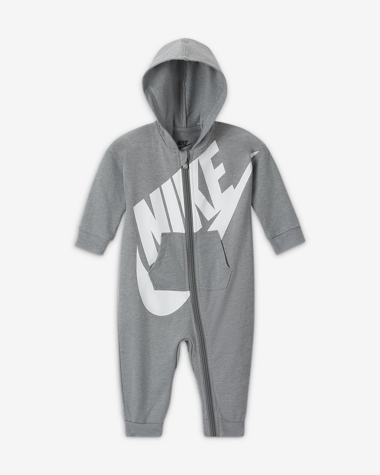 Nike Baby (0-9M) Hooded Coverall