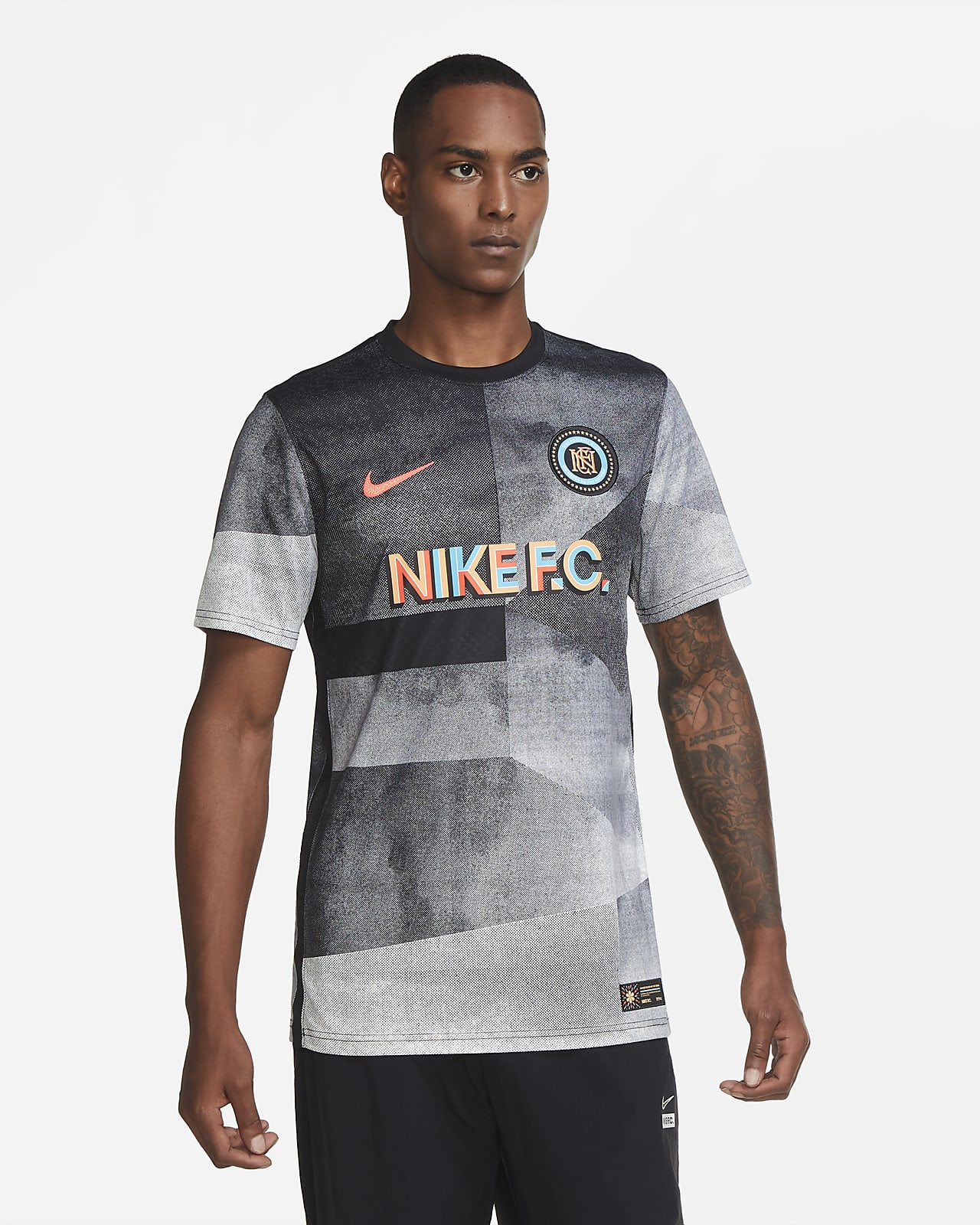 Nike F.C. South Mexico City Men's Soccer Jersey