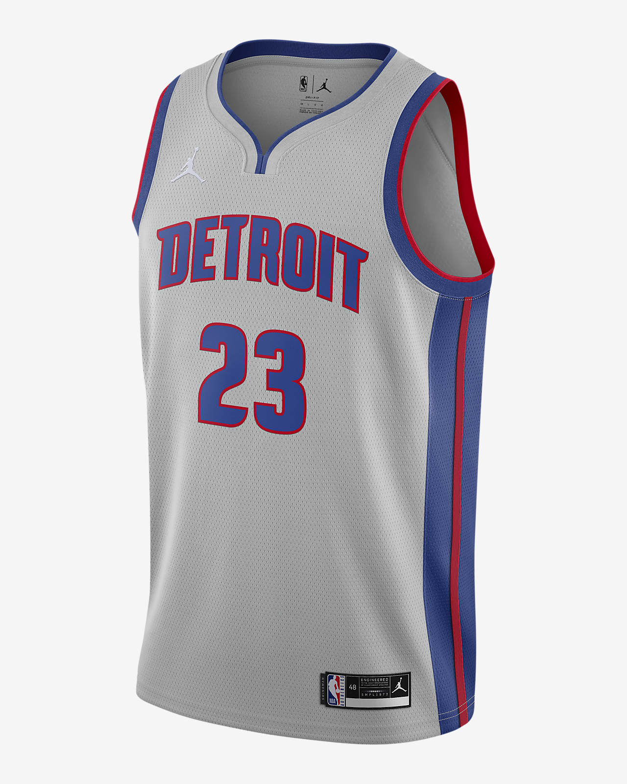 Detroit Pistons Pistons Statement Edition 2020 Jordan NBA Swingman Jersey