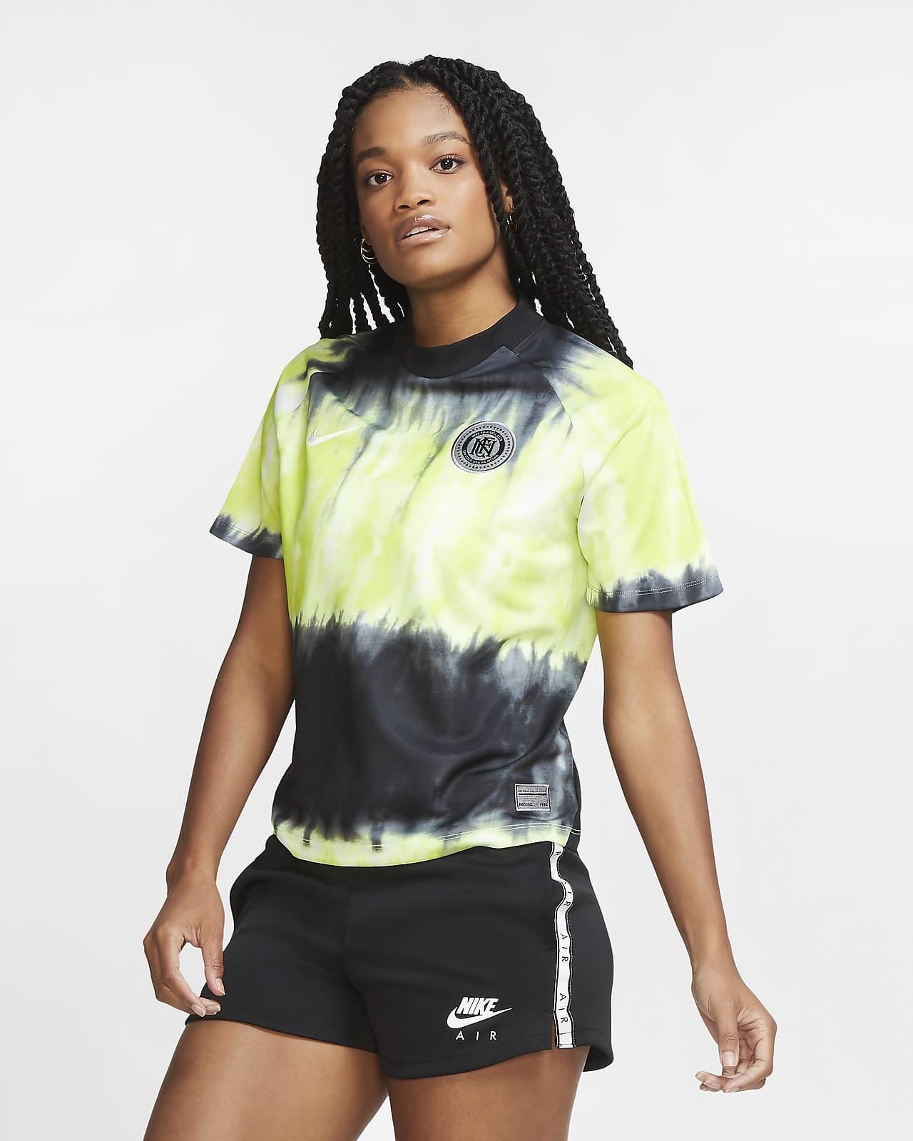 Maillot de football tie-dye Nike F.C. pour Femme
