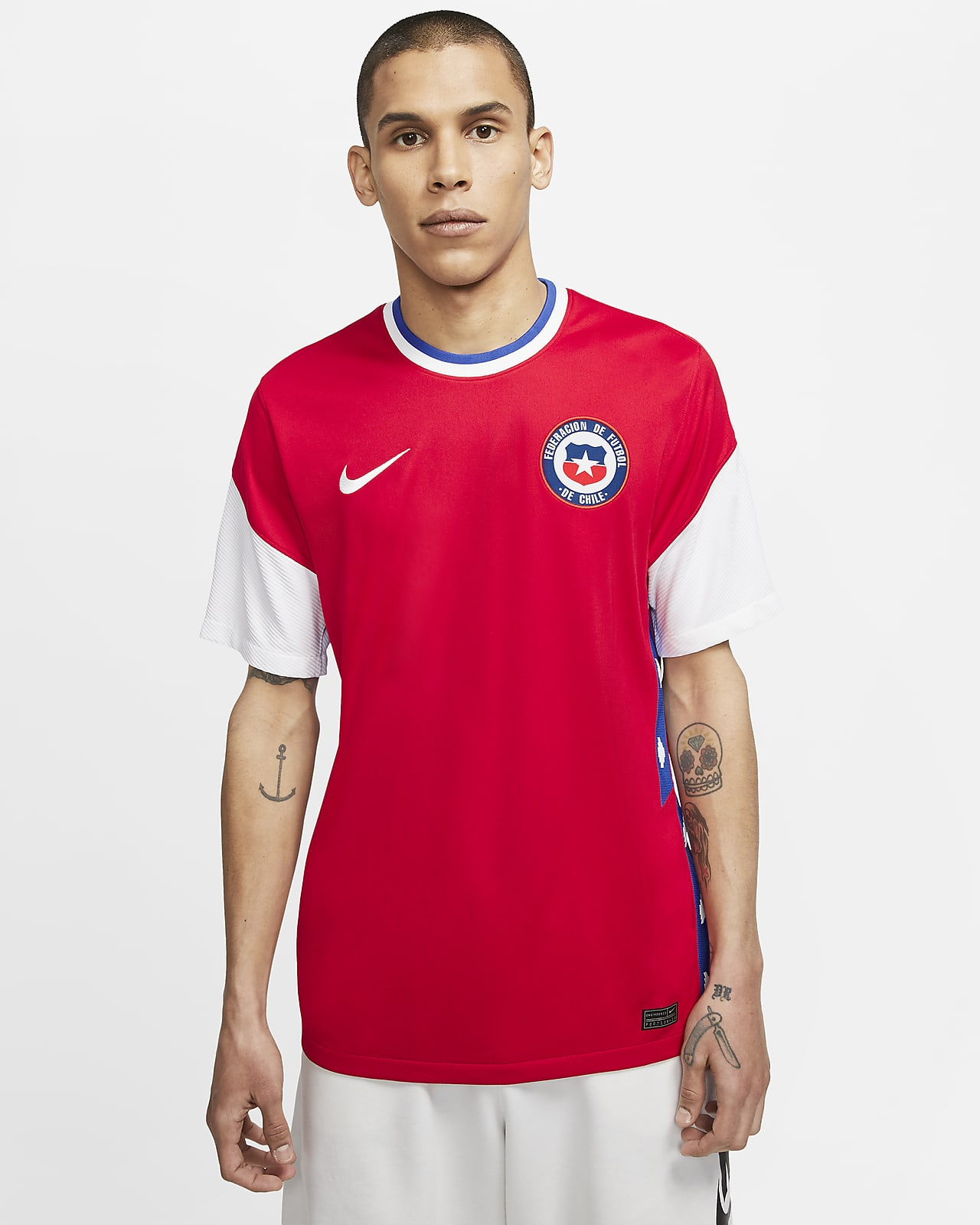 Chile 2020/21 Stadium Home Men's Soccer Jersey