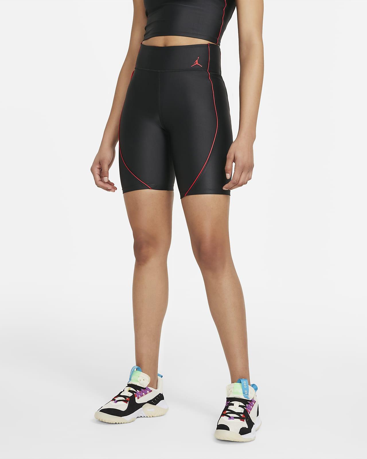 Shorts de ciclismo de tiro medio para mujer Jordan Essentials