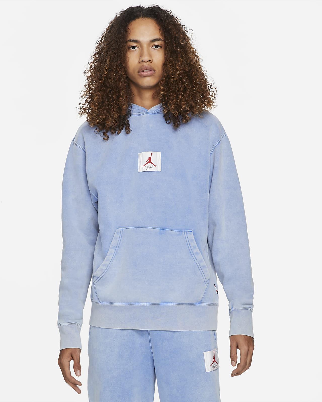 Felpa pullover con cappuccio e grafica Jordan Flight Fleece - Uomo