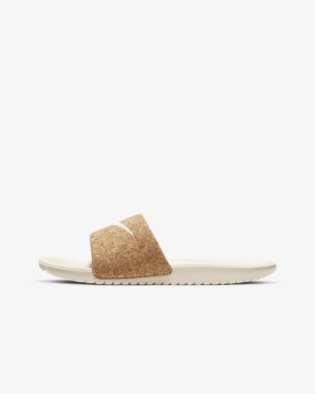 Nike Kawa SE 2 小/大童拖鞋