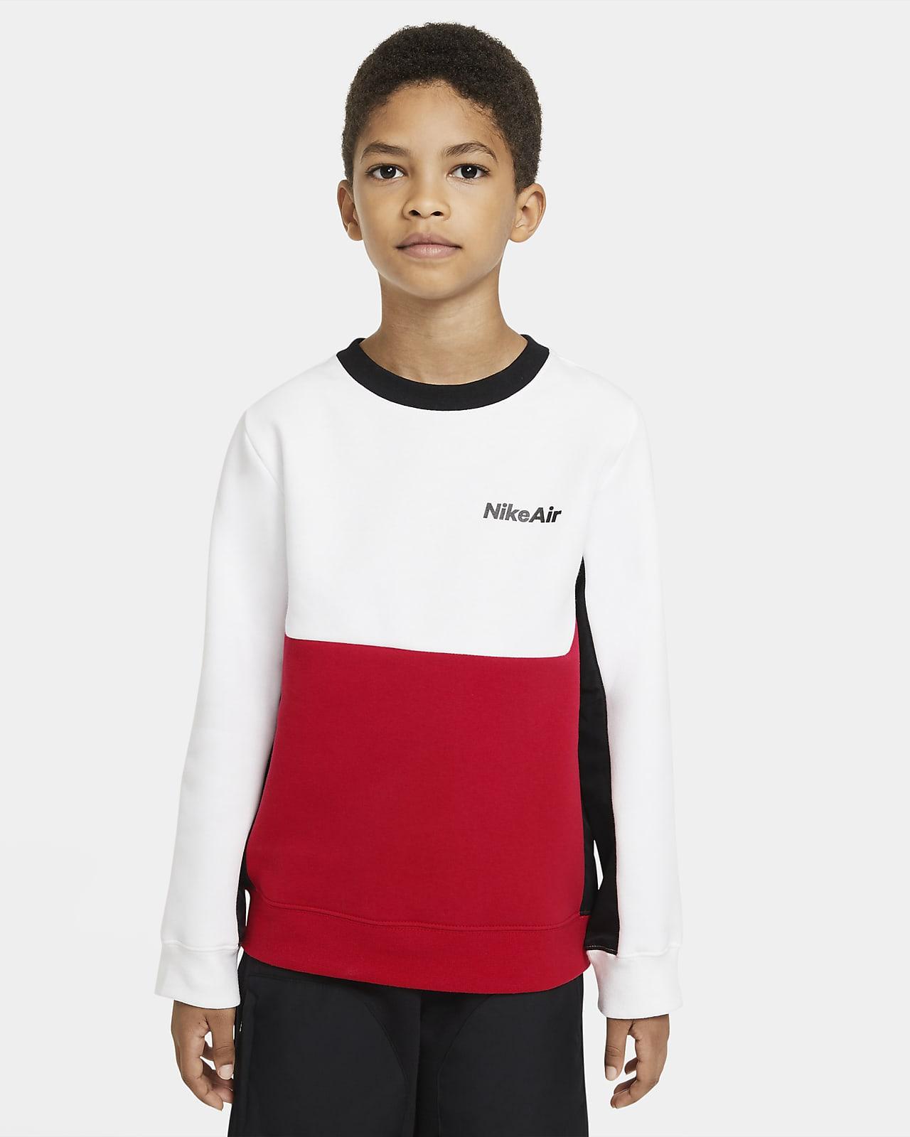 Sudadera de manga larga para niño talla grande Nike Air