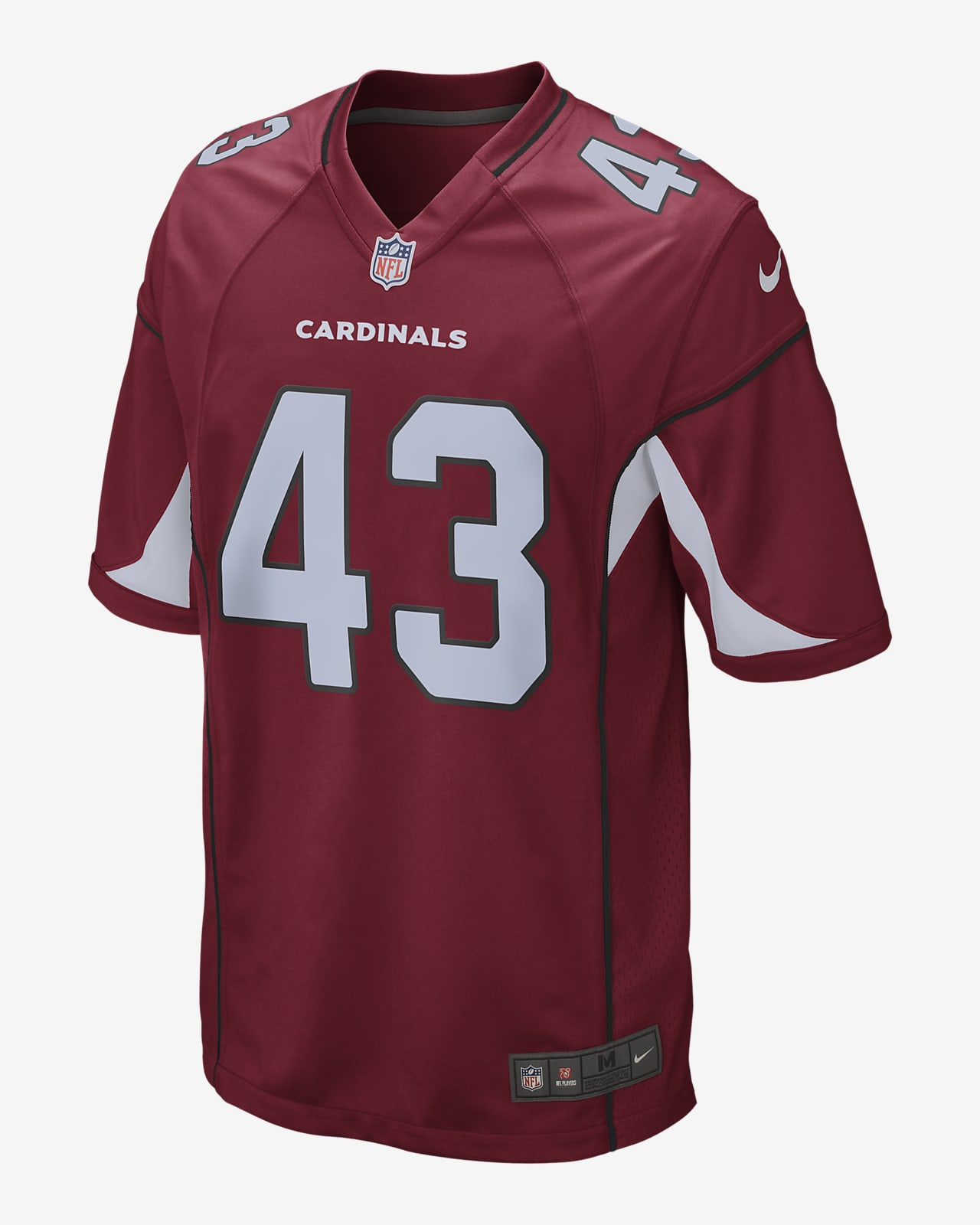 NFL Arizona Cardinals (Haason Reddick) Men's Game Football Jersey