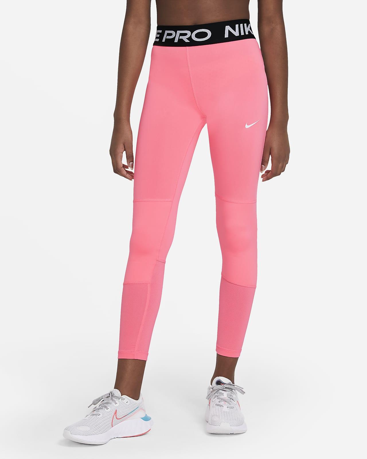 Nike Pro leggings til store barn (jente)