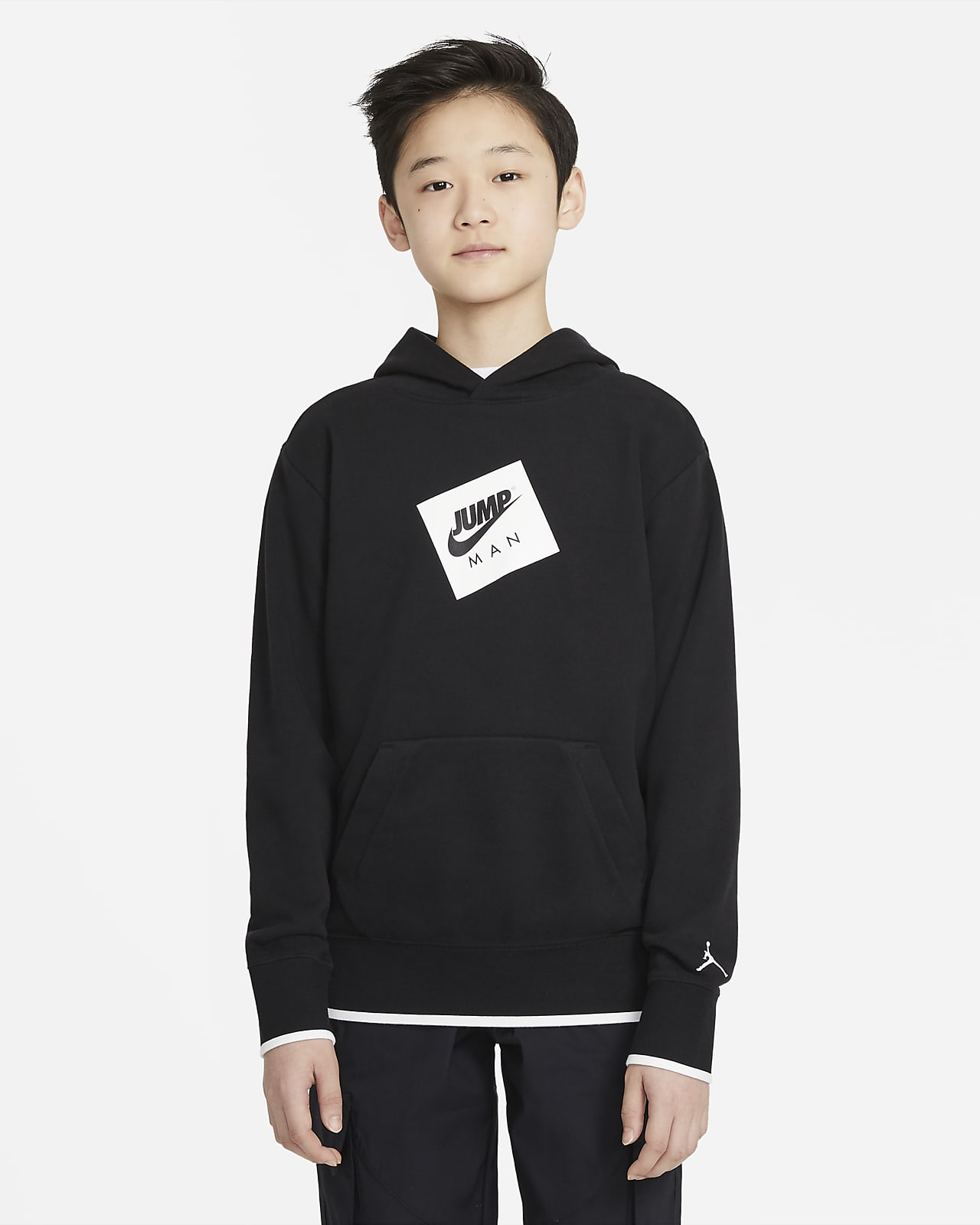 Jordan belebújós, kapucnis pulóver nagyobb gyerekeknek (fiúknak)