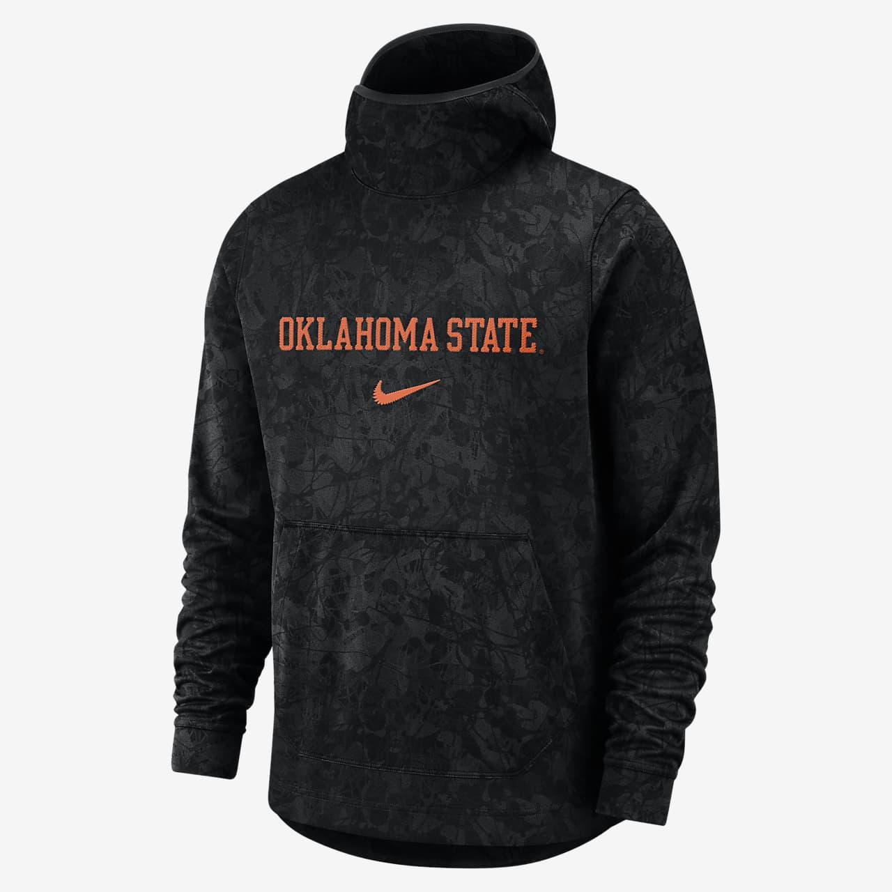 Nike College Dri-FIT Spotlight (Oklahoma State) Men's Pullover Basketball Hoodie