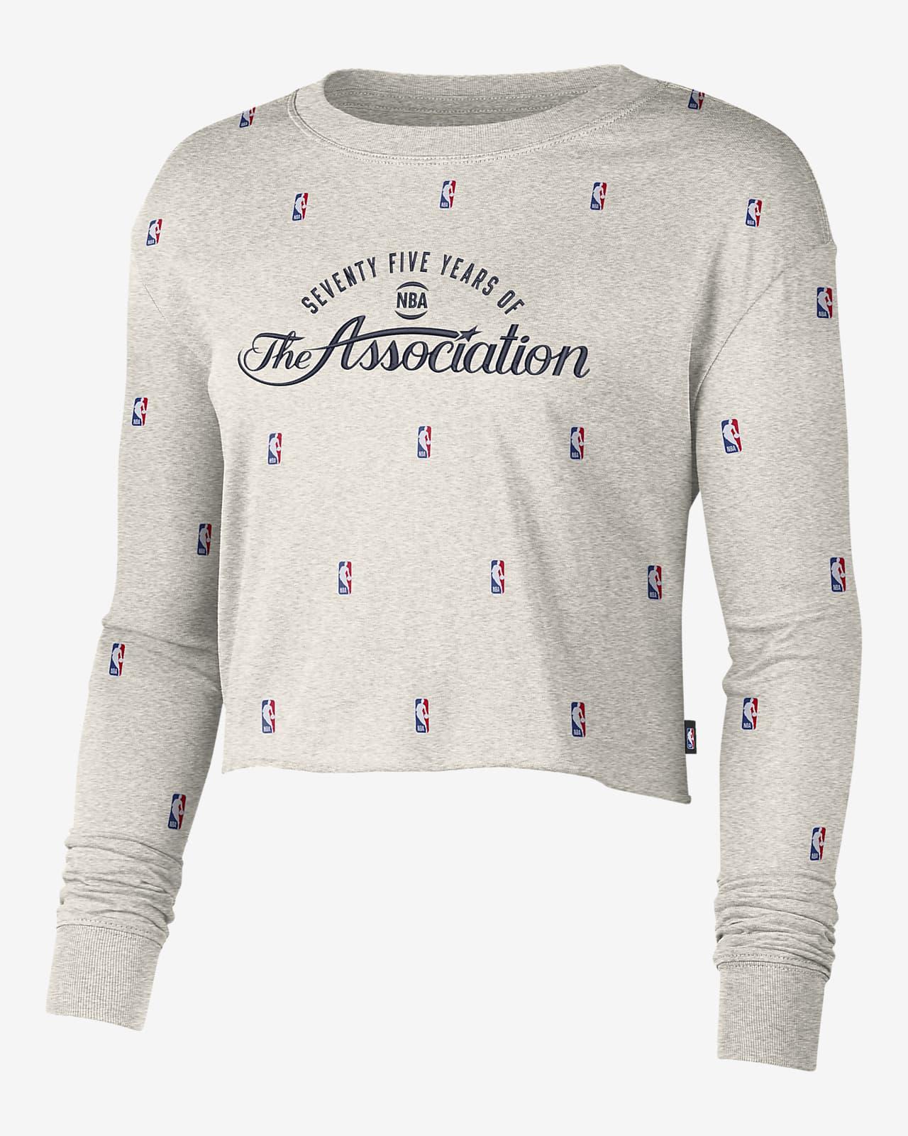 Tee-shirt à manches longues Nike NBA Team 31 Courtside pour Femme