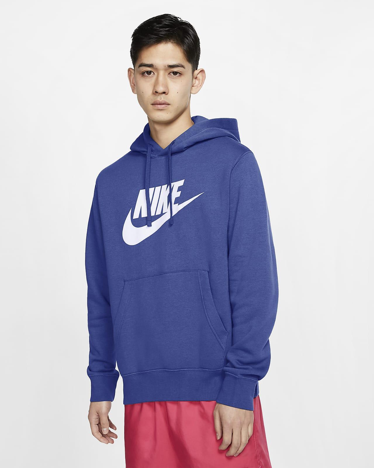 Sudadera Con Capucha Sin Cierre Con Estampado Para Hombre Nike Sportswear Club Fleece Nike Com