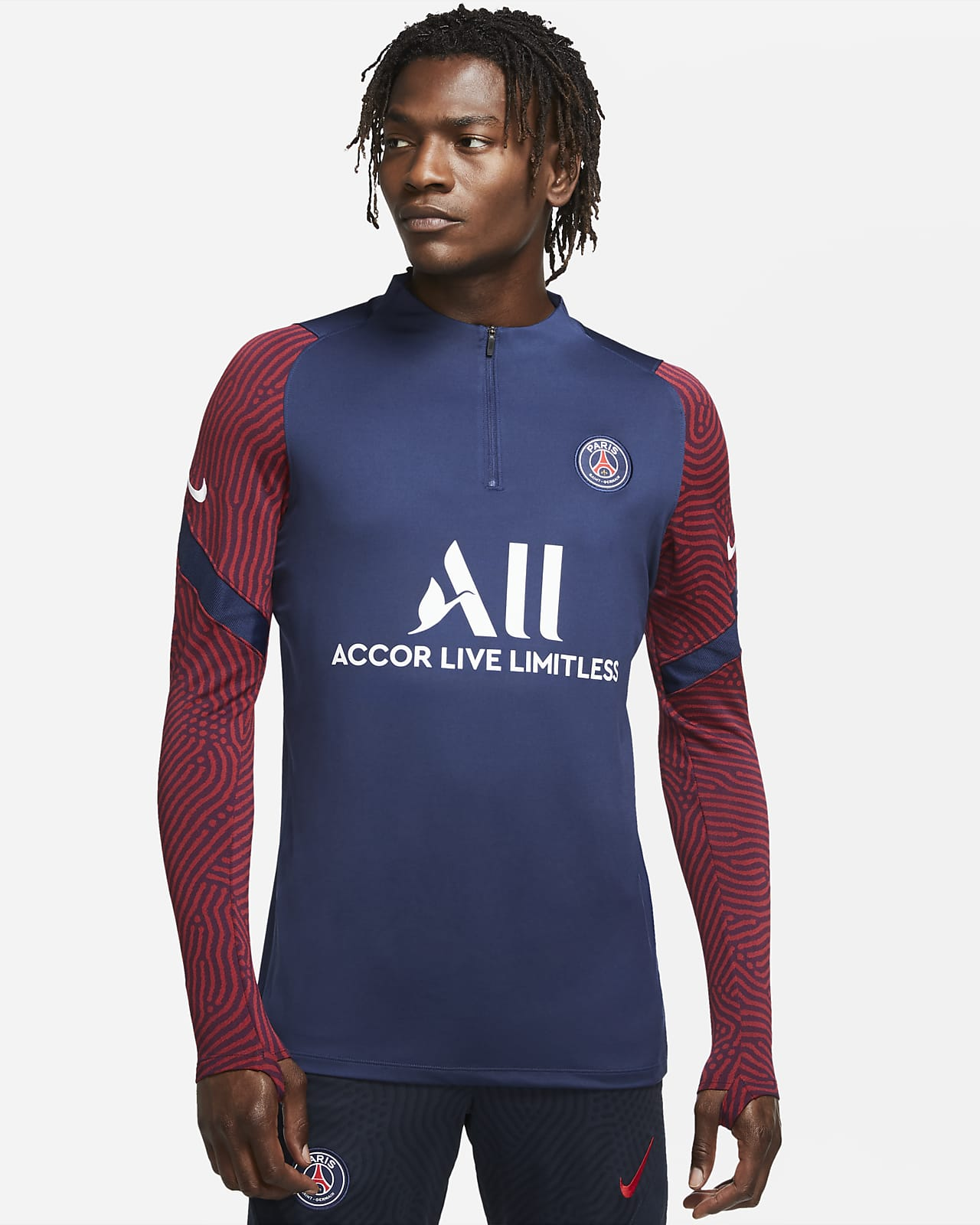 Męska treningowa koszulka piłkarska Paris Saint-Germain Strike