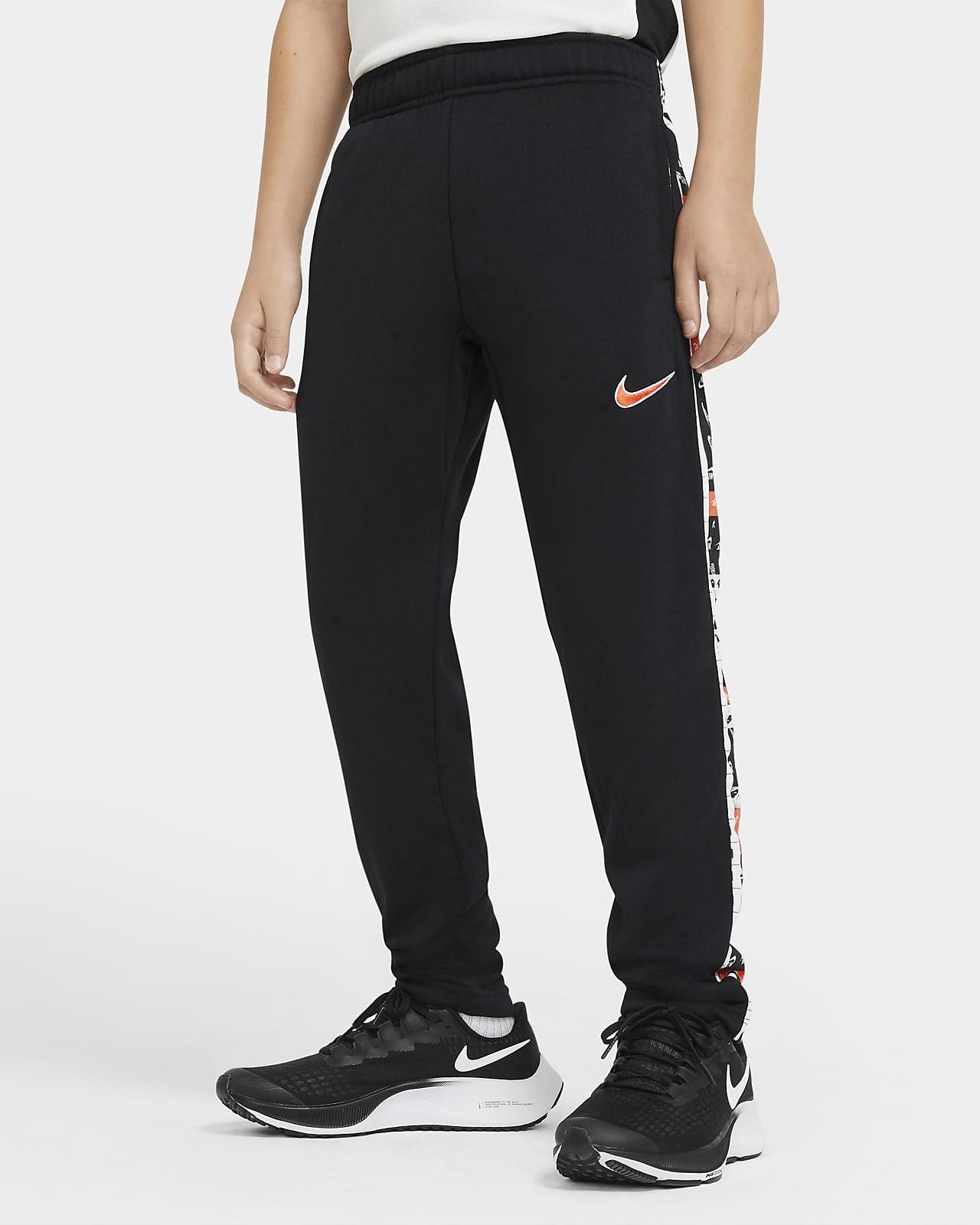 Pantalones de entrenamiento entallados con estampado para niños talla grande Nike Dri-FIT