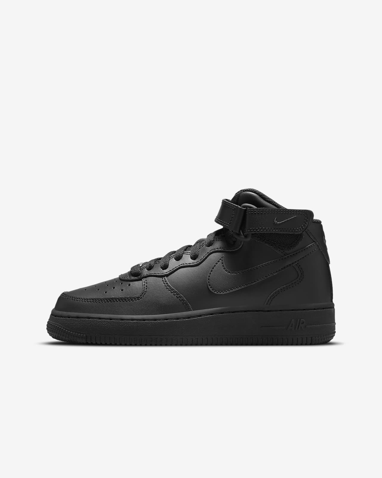 Calzado para niños talla grande Nike Air Force 1 Mid LE