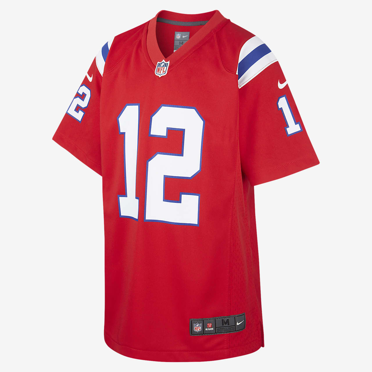 Dependencia Cambiable Hecho un desastre  NFL New England Patriots (Tom Brady) Older Kids' Game Jersey. Nike GB