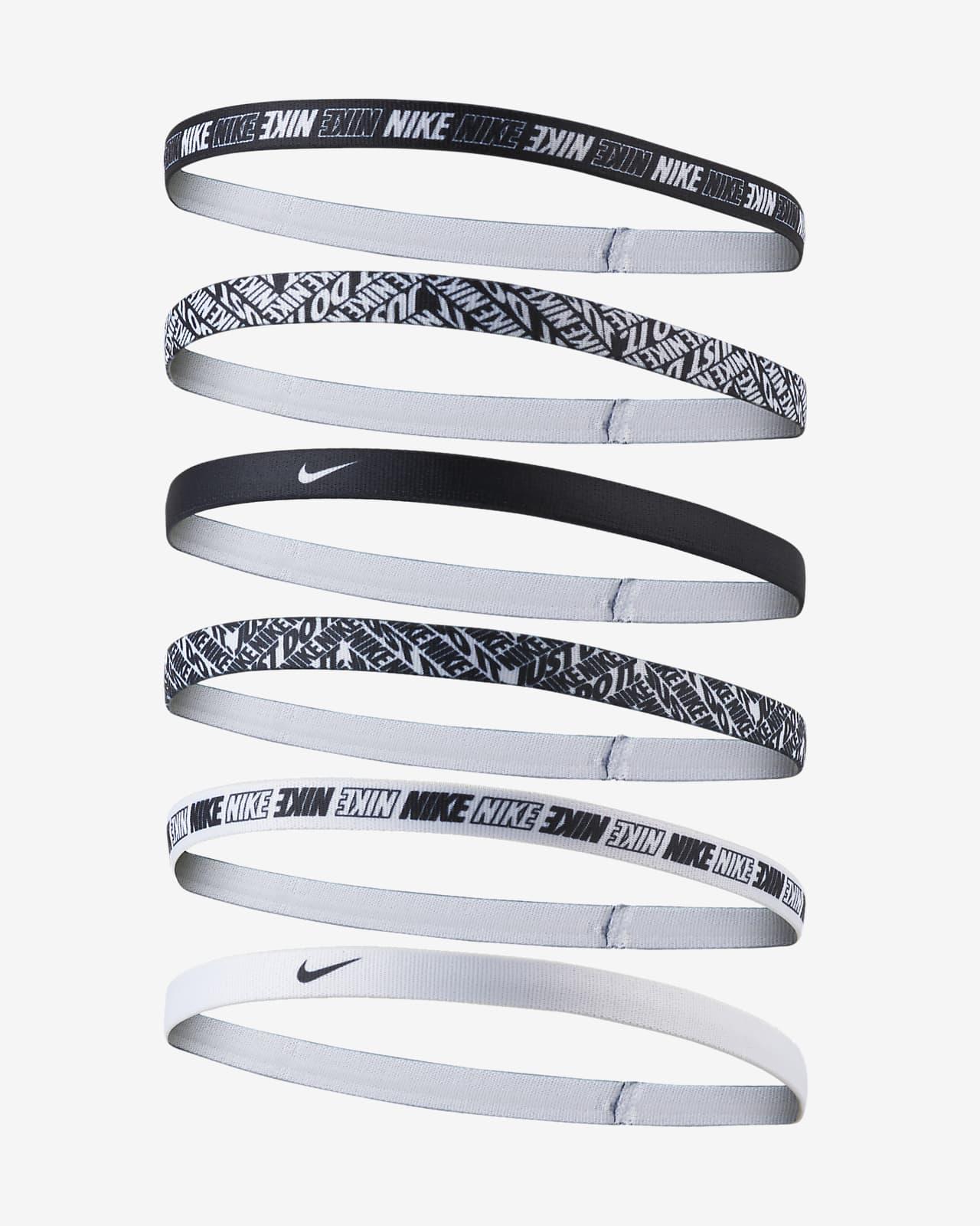 Melódico Incienso clase  Cinta para el pelo Nike Printed (paquete de 6). Nike.com