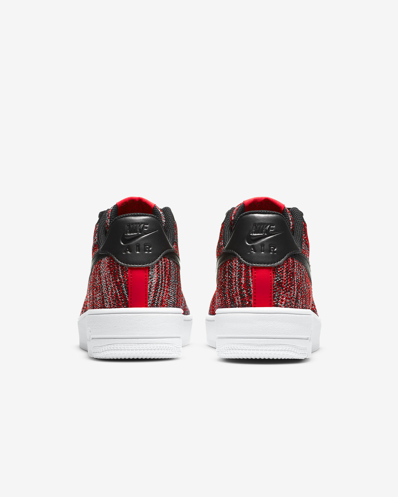 nike air force 1 flyknit 2.0 uomo rosse