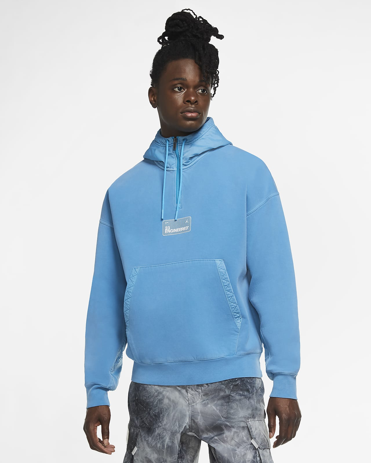 Sweat à capuche en tissu Fleece Jordan 23 Engineered pour Homme