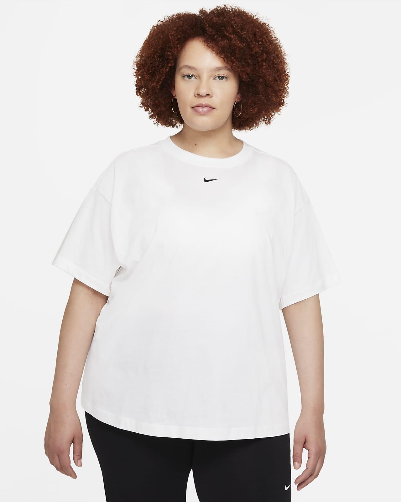 Camiseta de manga corta oversized para mujer Nike Sportswear Essential (talla grande)