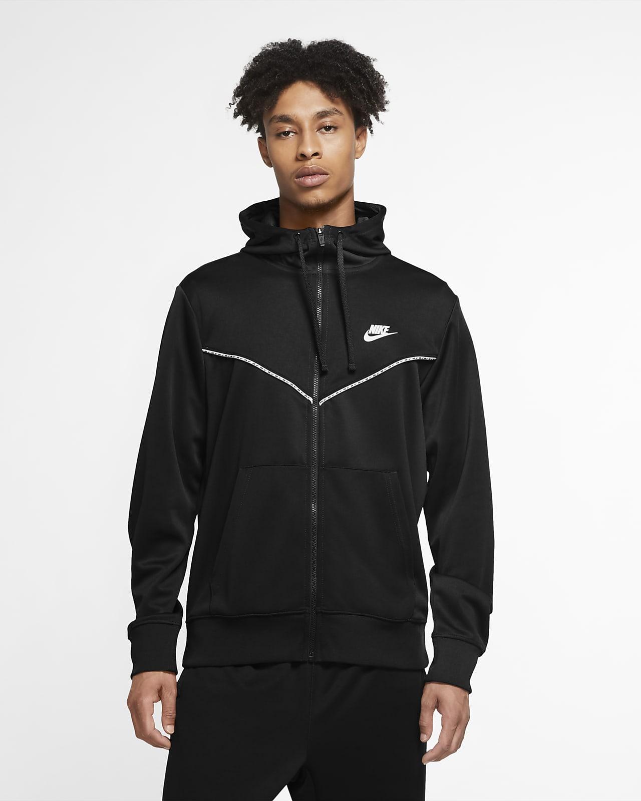 Pánská mikina Nike Sportswear s kapucí a zipem po celé délce
