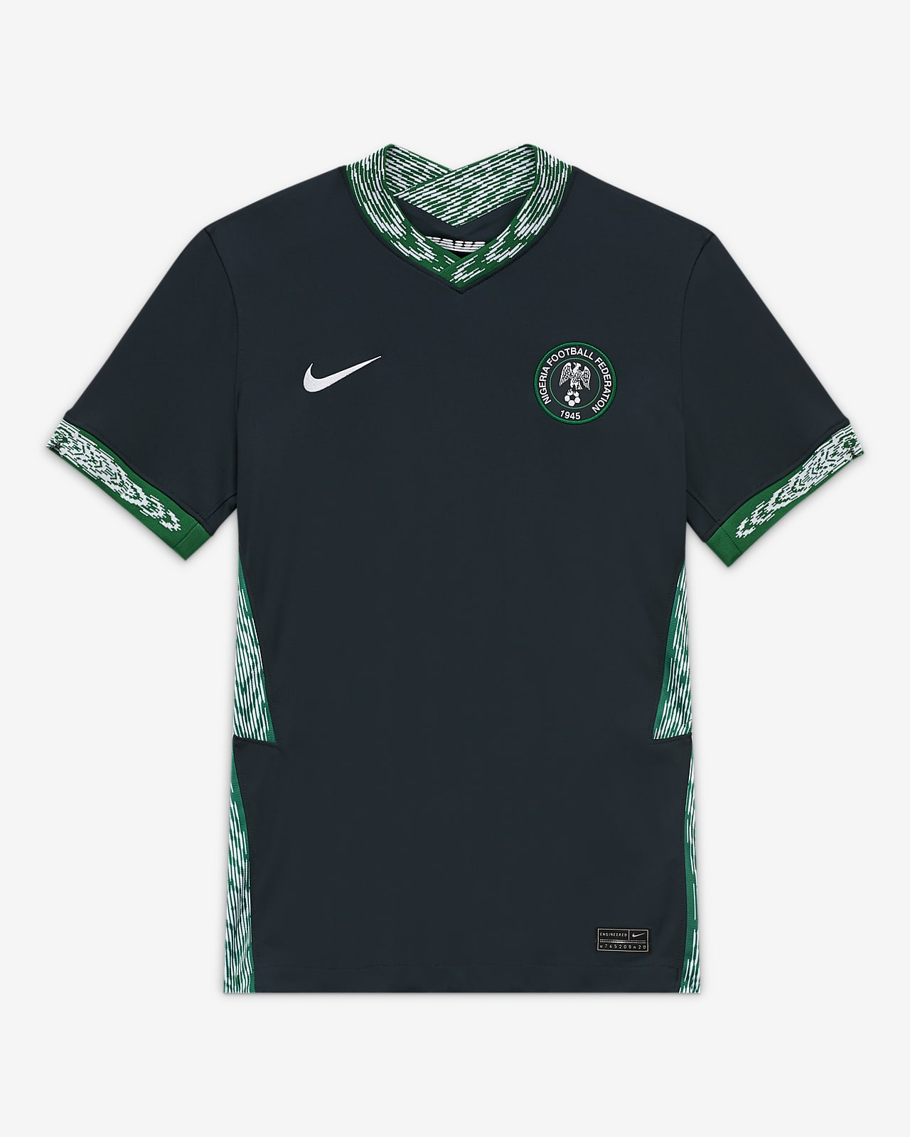 Nigeria 2020 Stadium Away Women's Soccer Jersey