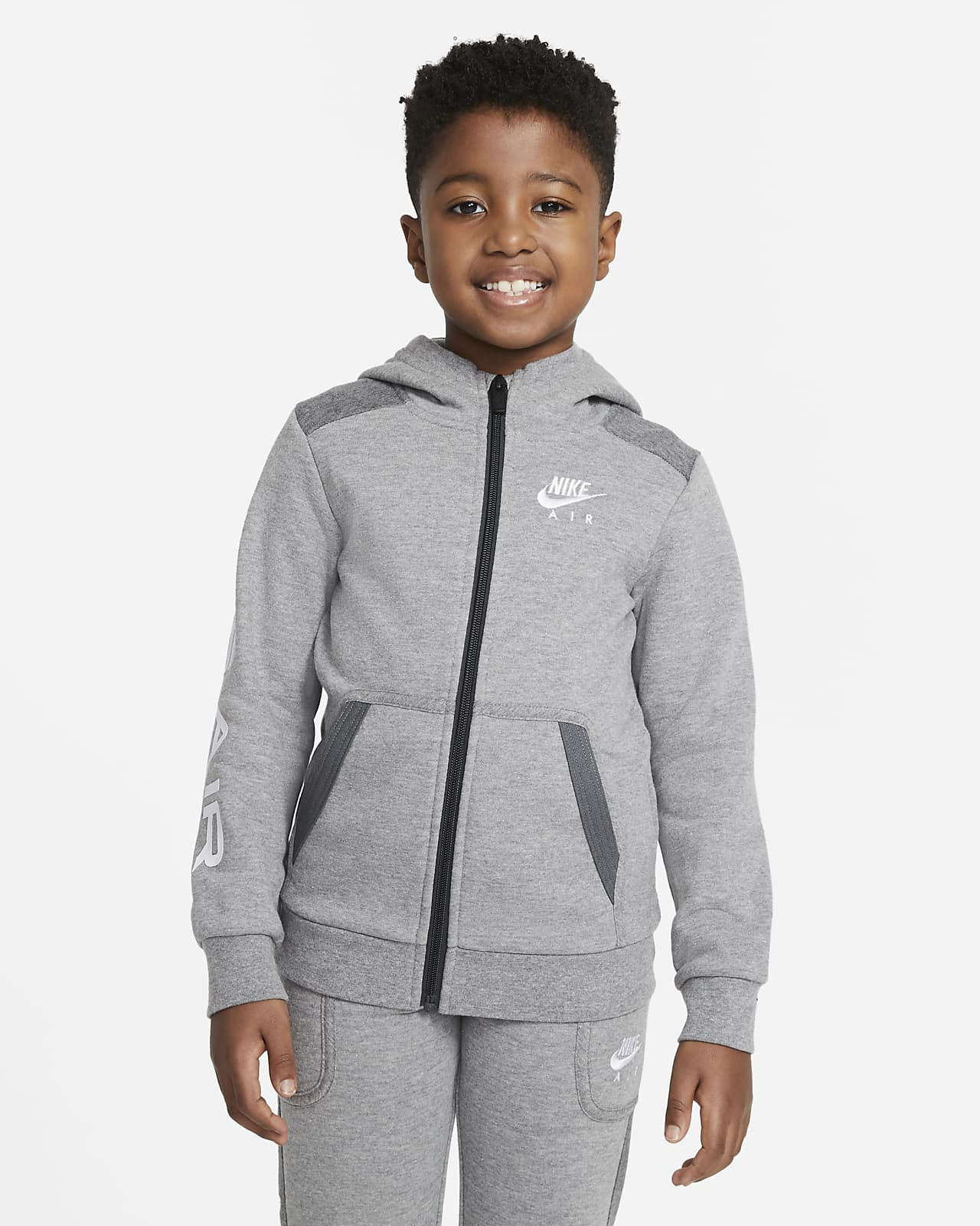 Nike Air Little Kids' Full-Zip Hoodie