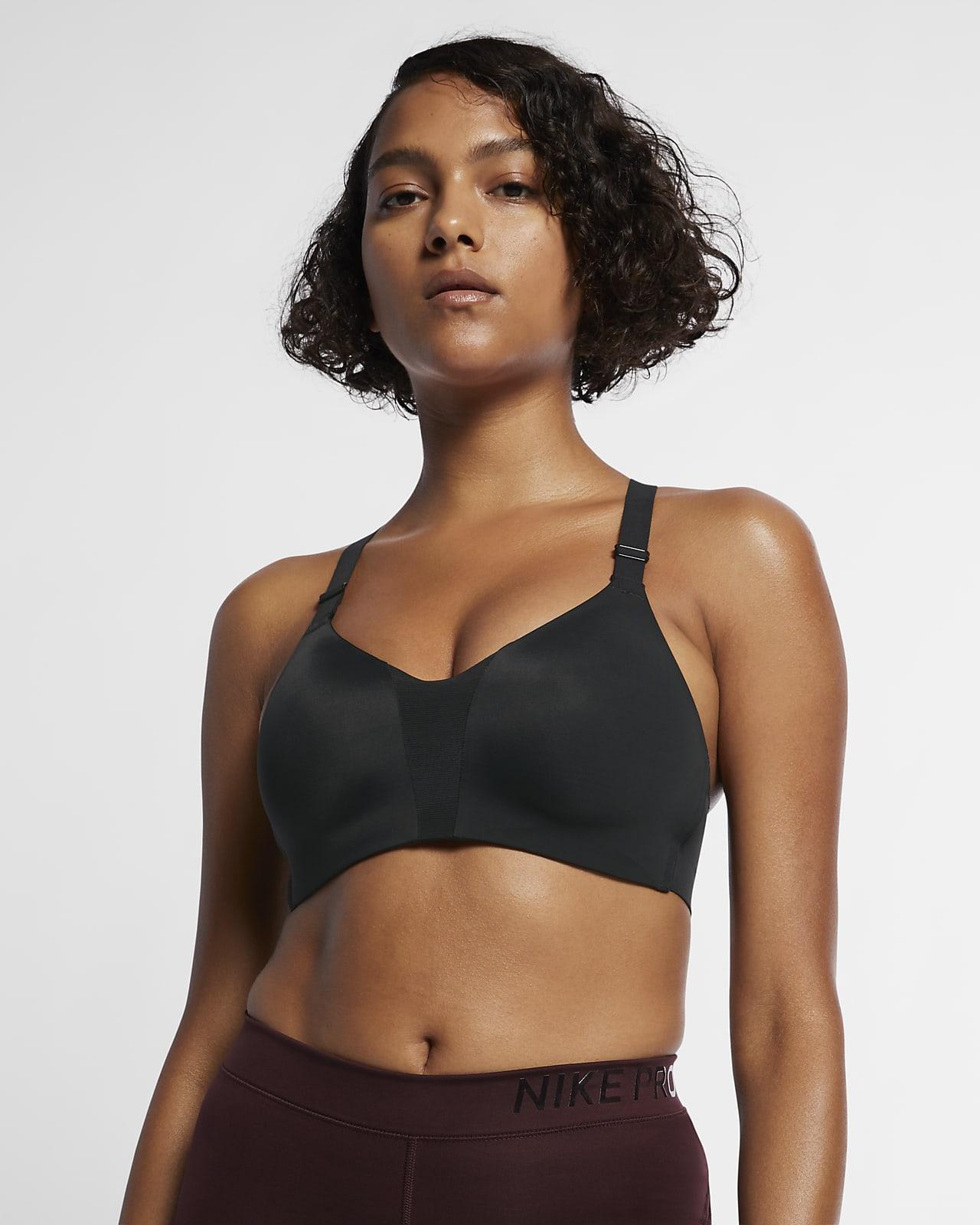 Nike Dri-FIT Rival polstret sports-BH med mye støtte til dame