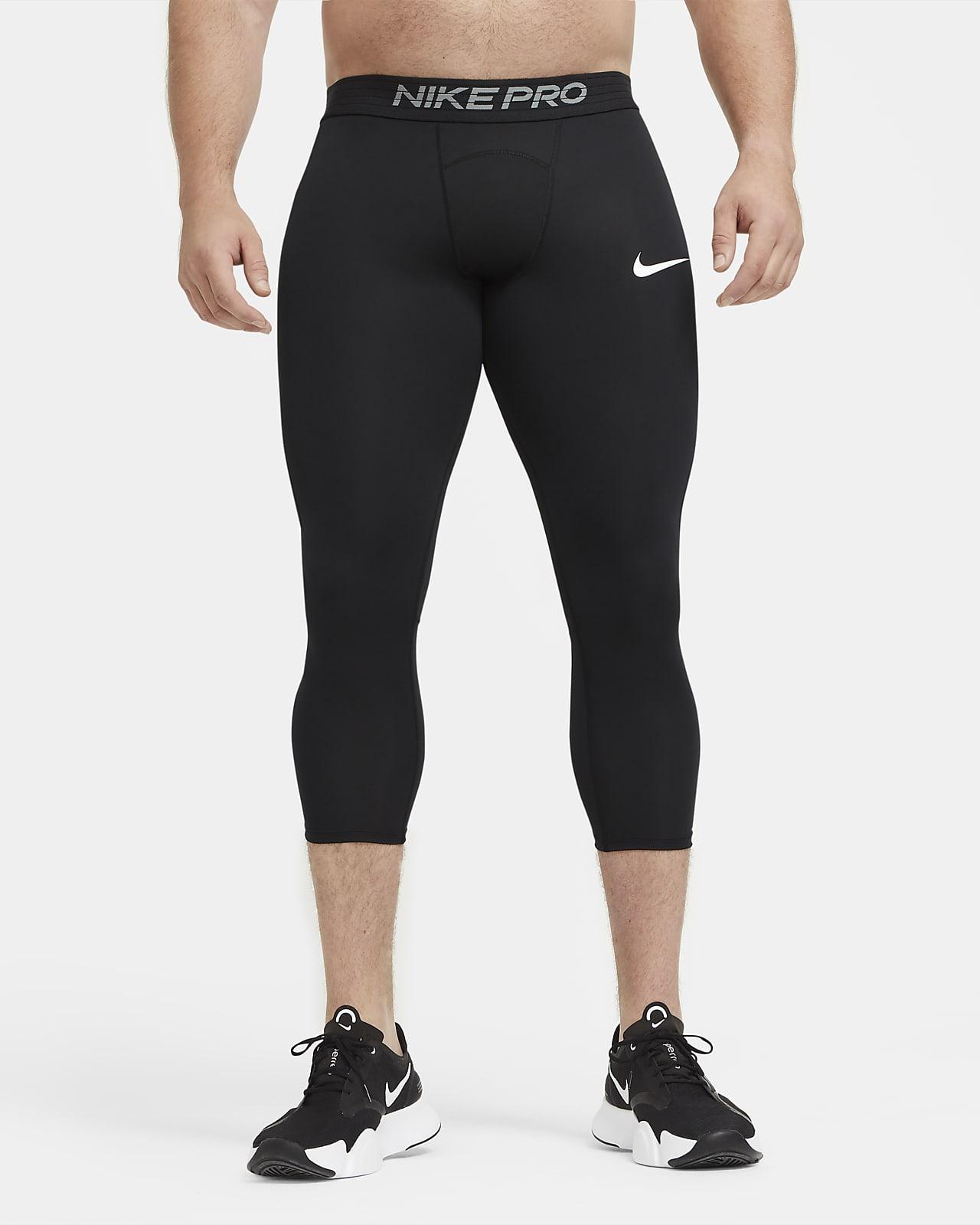 Nike Pro Men's 3/4 Tights. Nike LU