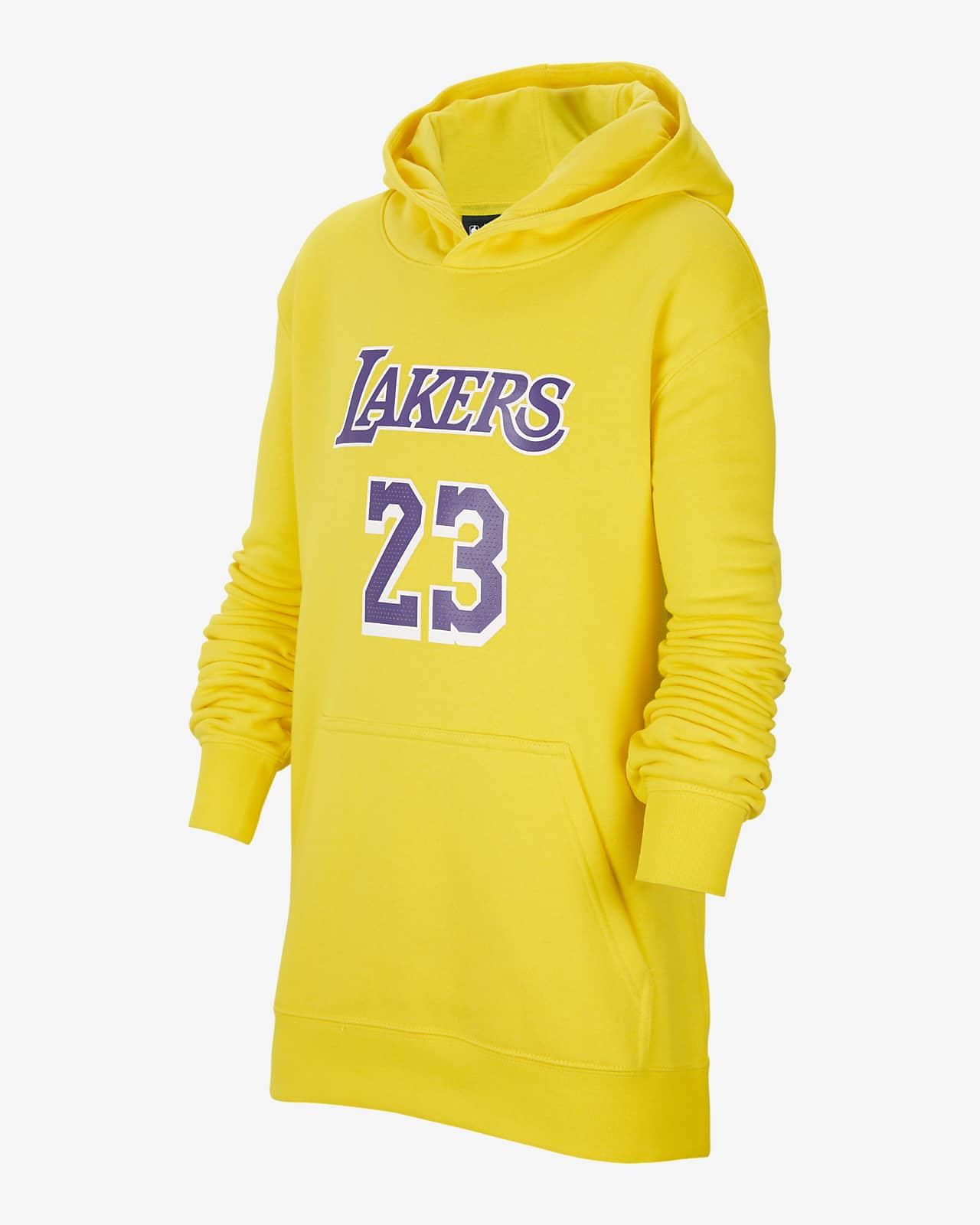 Los Angeles Lakers Essential Older Kids' Nike NBA Hoodie