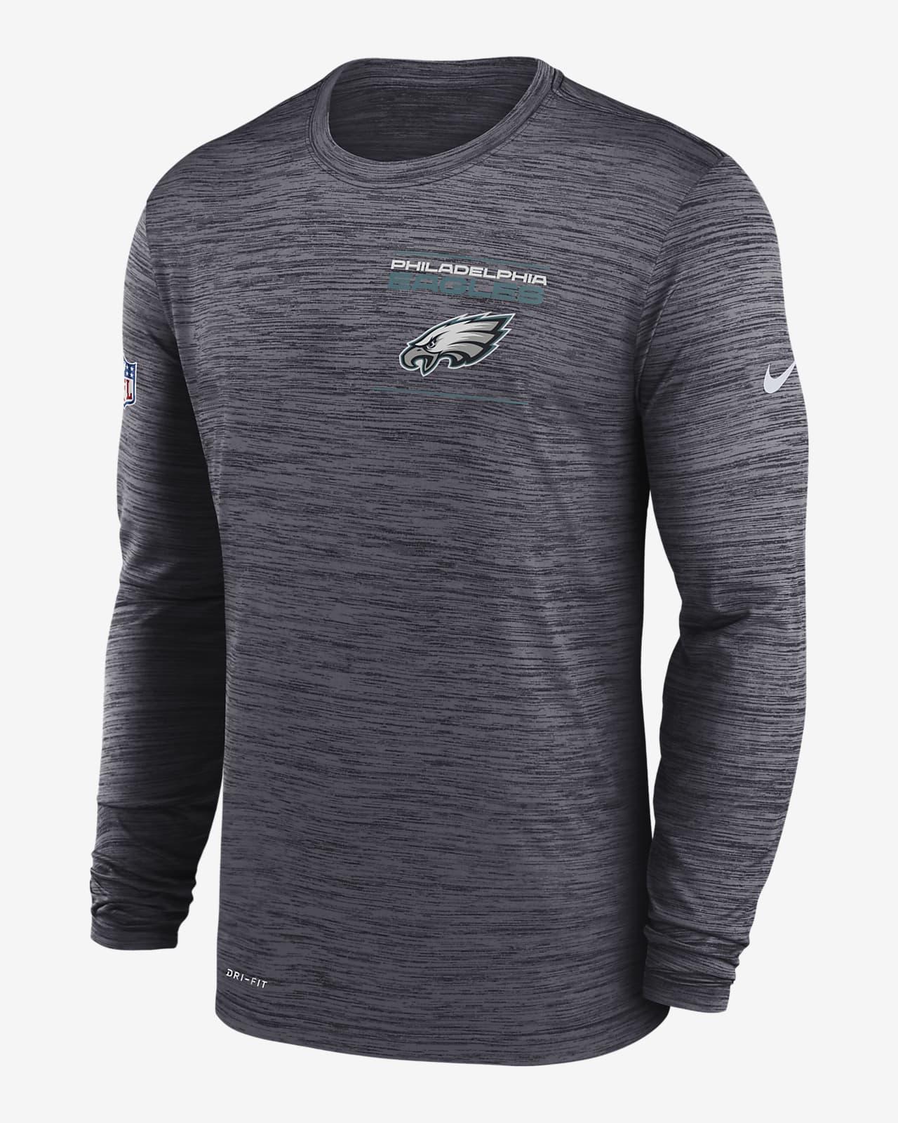 Nike Dri-FIT Sideline Velocity Legend (NFL Philadelphia Eagles) Men's Long-Sleeve T-Shirt