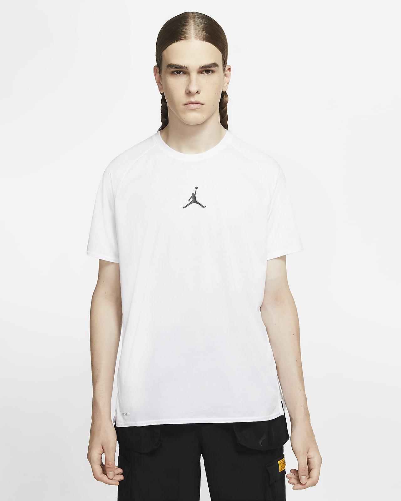 Camisola de treino de manga curta Jordan Air para homem