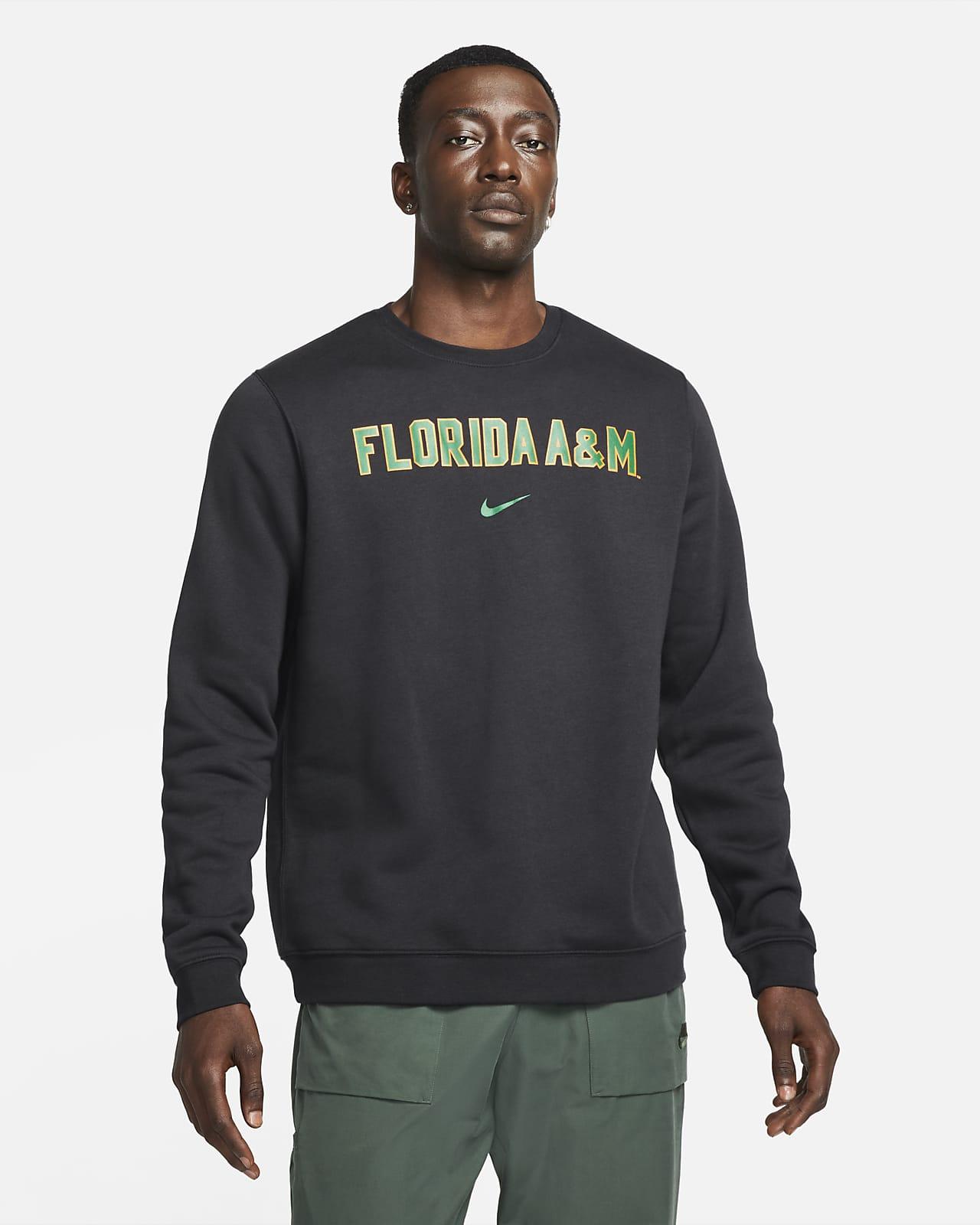 Nike College Club Fleece (FAMU) Crew Sweatshirt