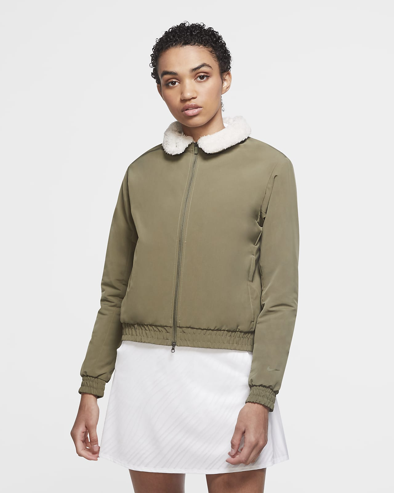 Nike Shield Women's Golf Bomber Jacket