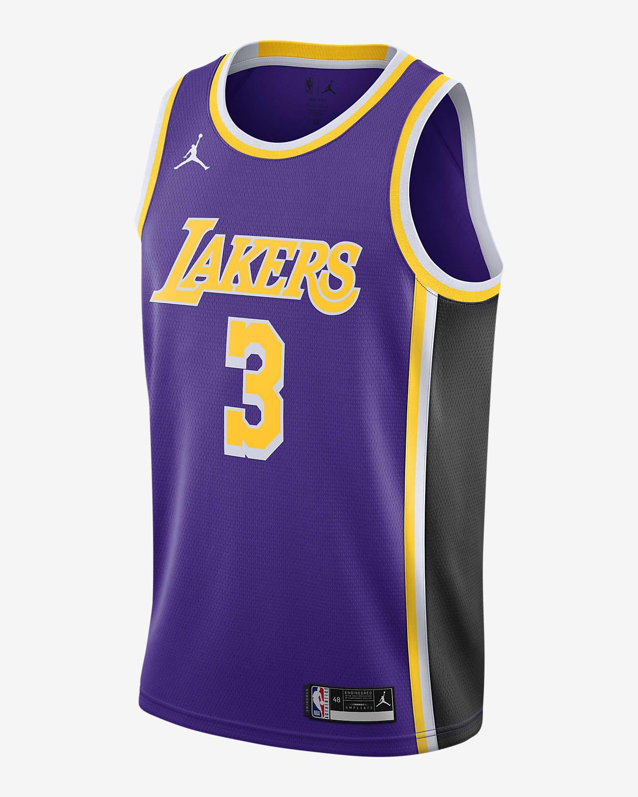 Anthony Davis (nba) Lakers Statement Edition 2020 Jordan NBA Swingman Jersey
