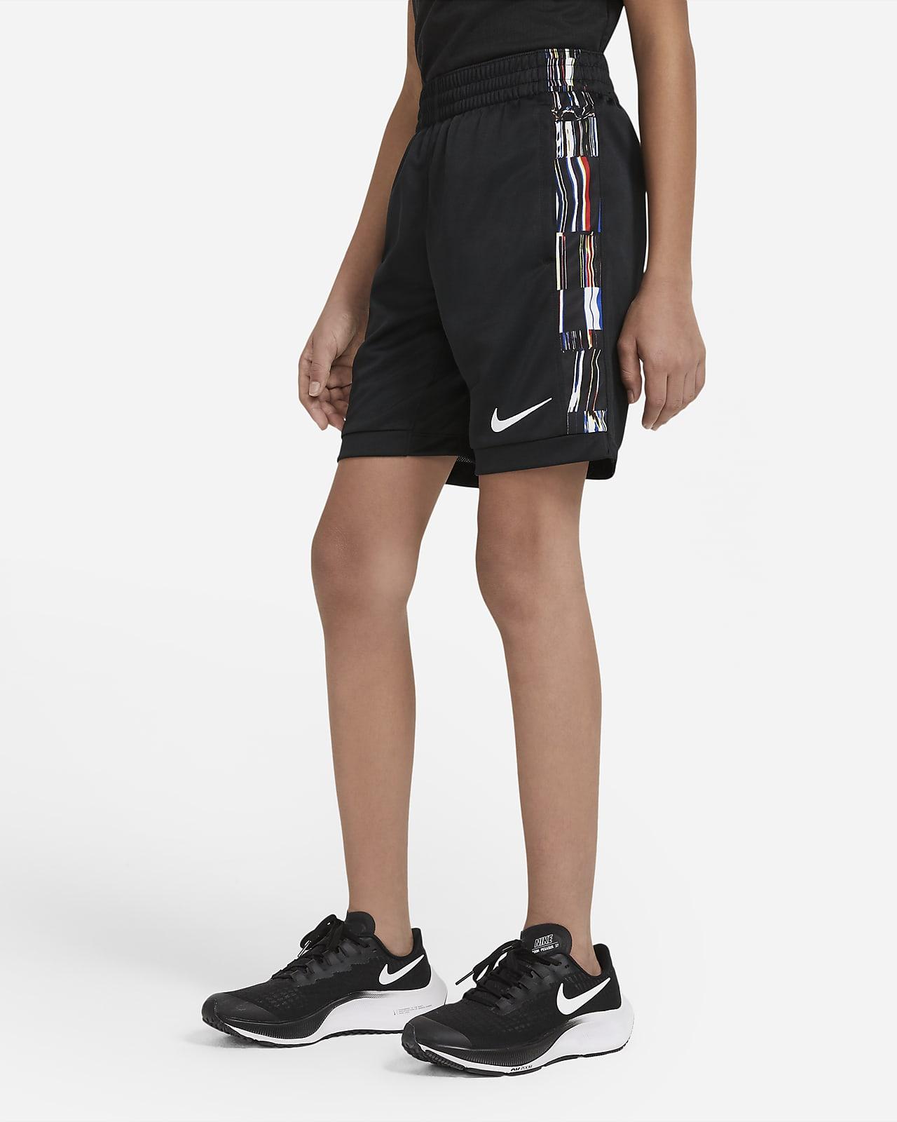 Nike Trophy 大童 (男童) 印花訓練短褲