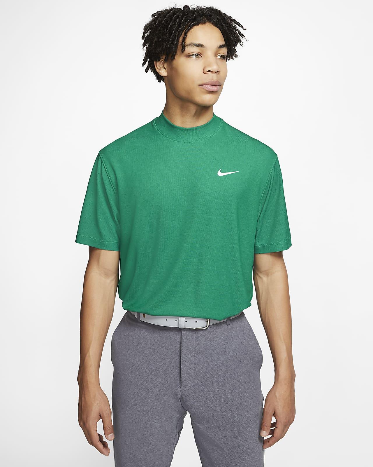 Nike Dri-FIT Tiger Woods Men's Mock-Neck Golf Top
