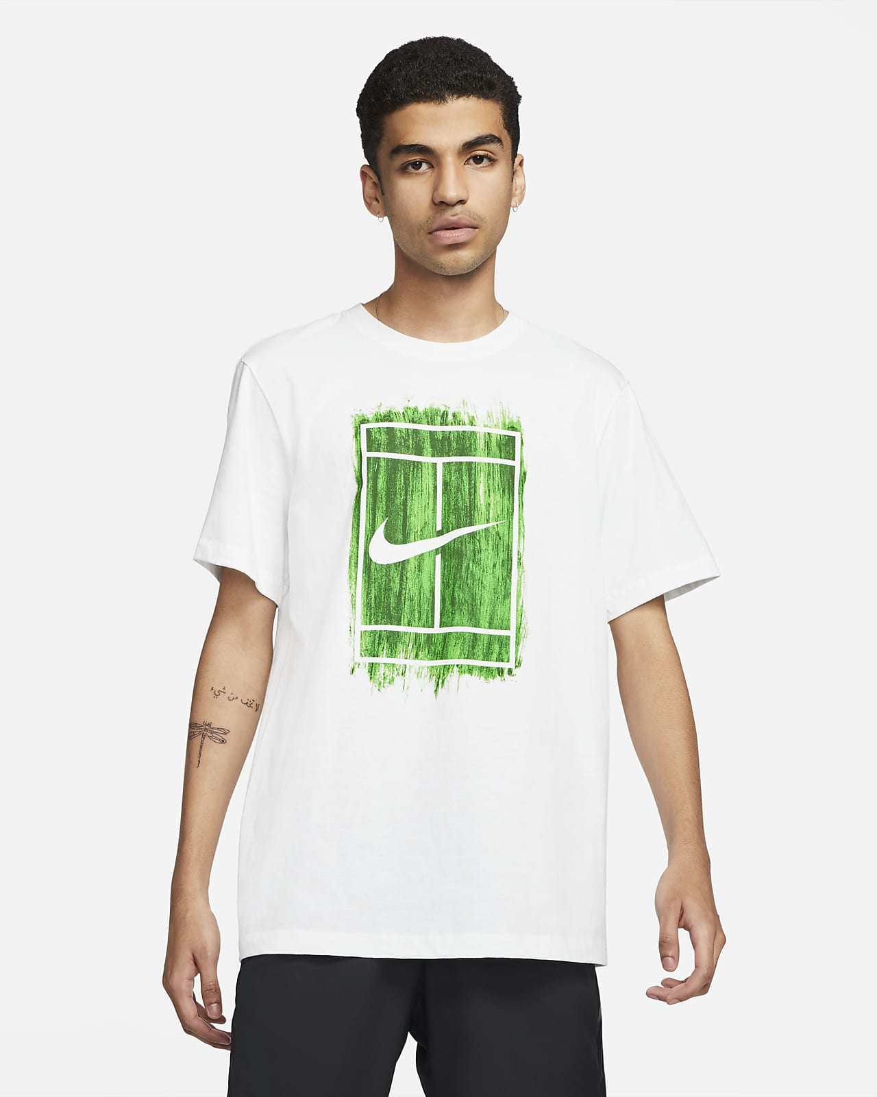 NikeCourt Men's Graphic Tennis T-Shirt
