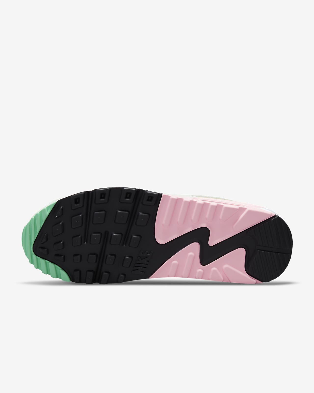 nike air max 90 womens pink and black